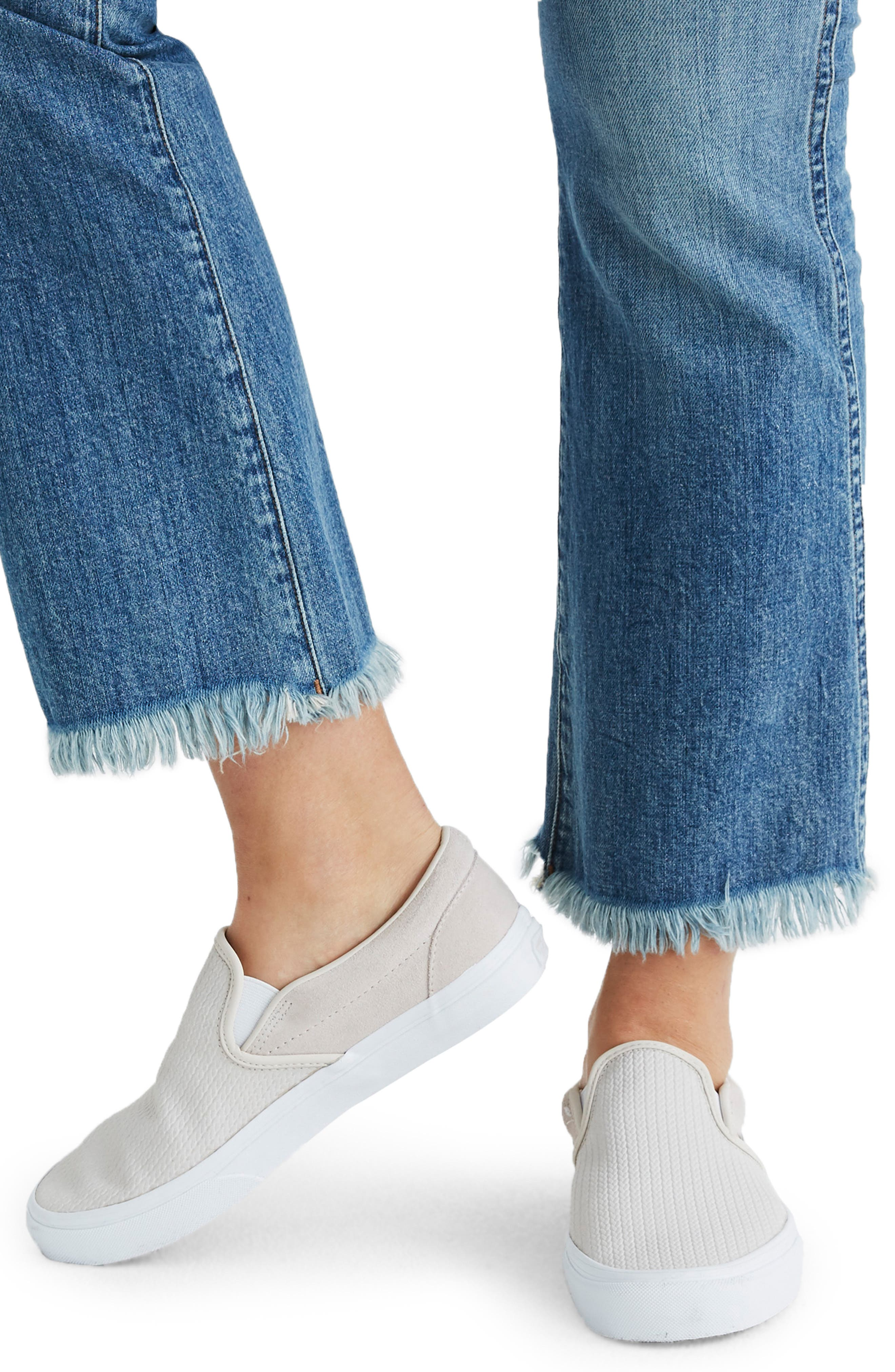 Cali Demi Boot Jeans,                             Alternate thumbnail 4, color,                             HENEY