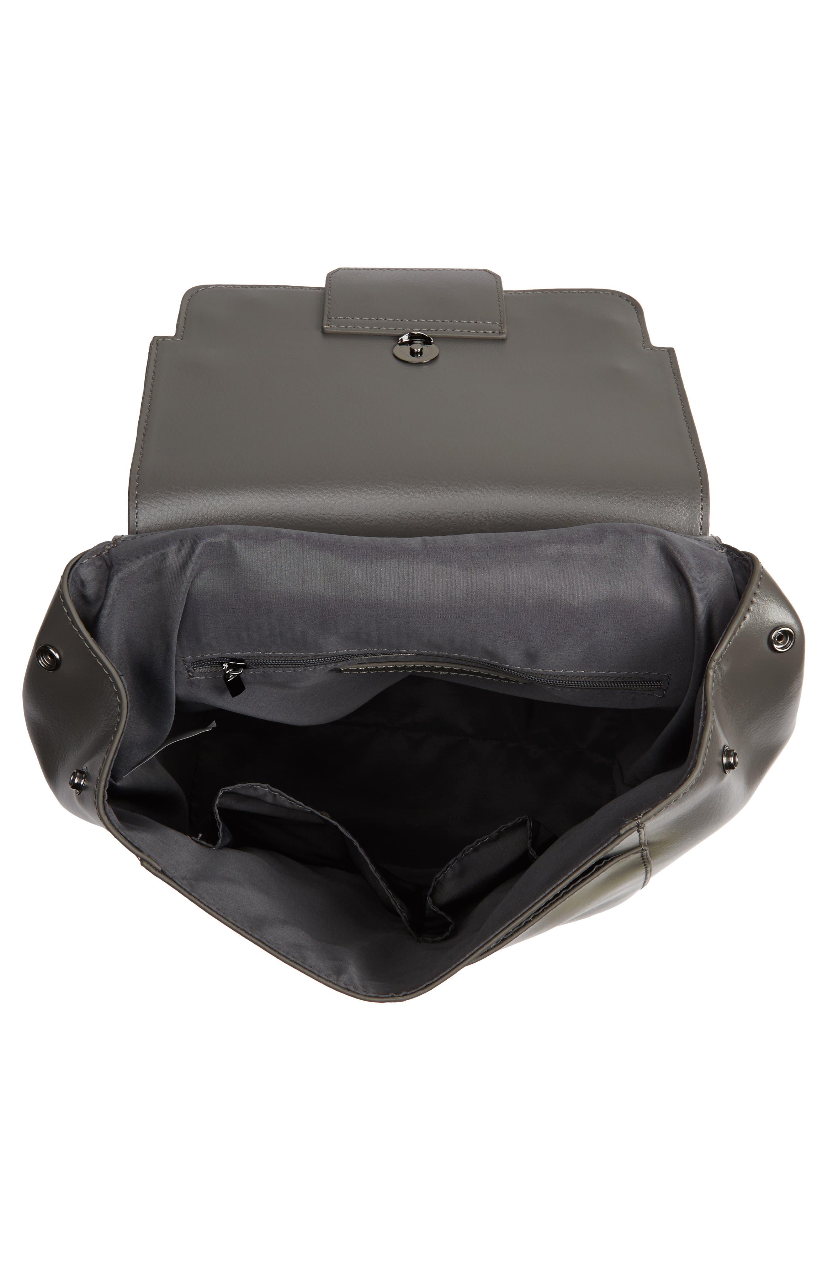 Dylan Leather Backpack,                             Alternate thumbnail 11, color,