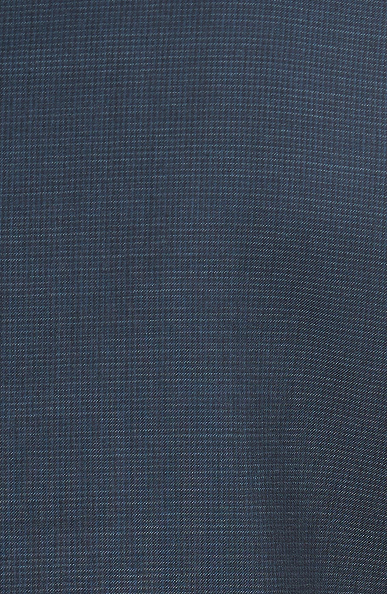 Classic Fit Check Wool Suit,                             Alternate thumbnail 28, color,