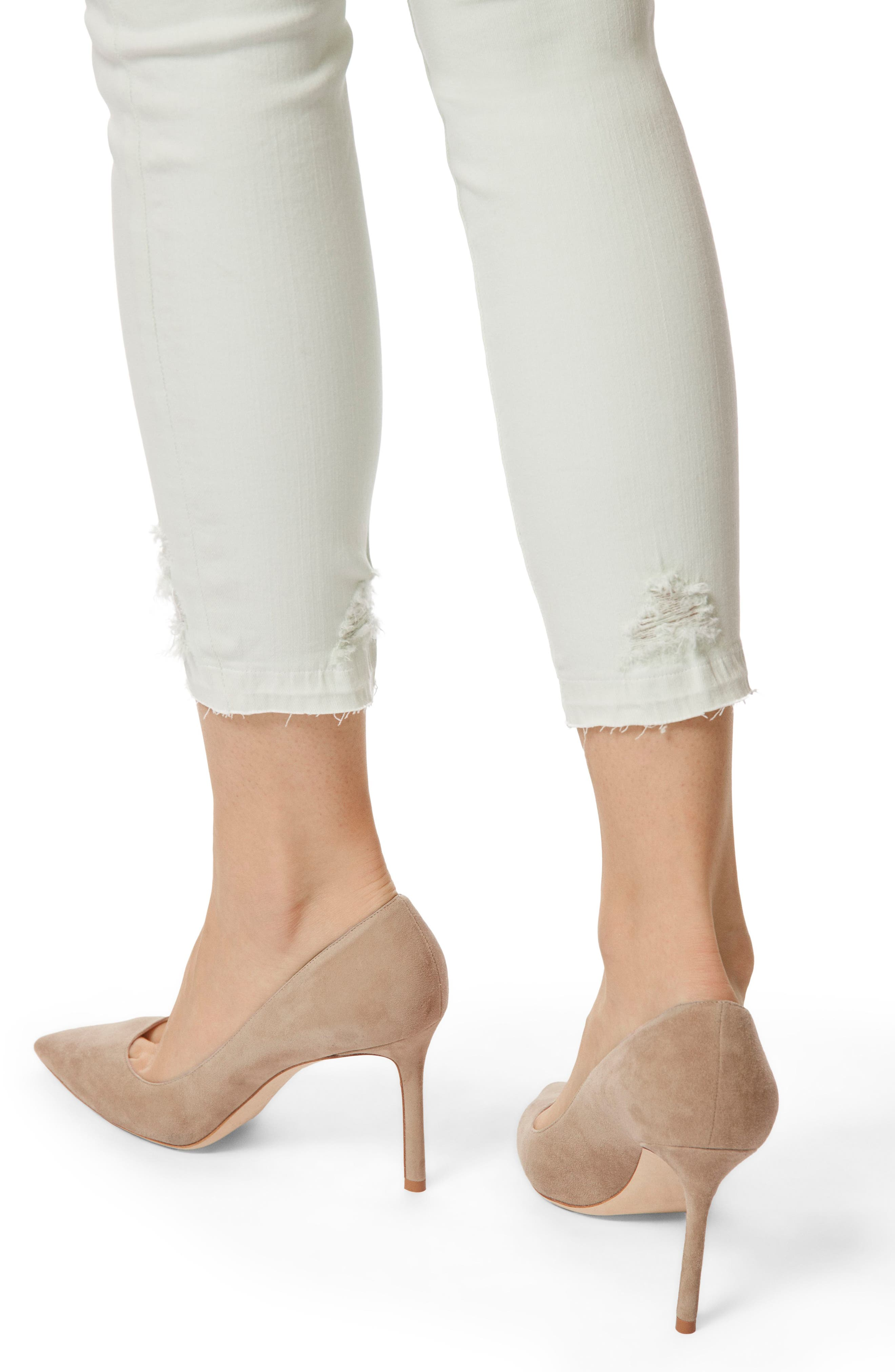 'Alana' High Rise Crop Skinny Jeans,                             Alternate thumbnail 4, color,                             336