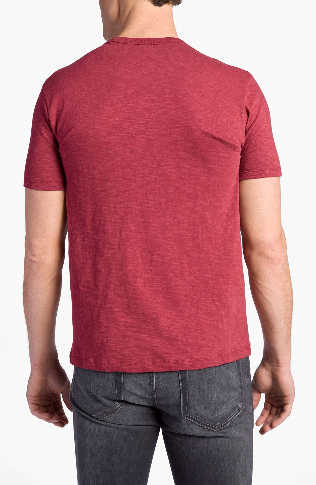 'Chicago Cubs' Regular Fit Crewneck T-Shirt,                             Alternate thumbnail 49, color,
