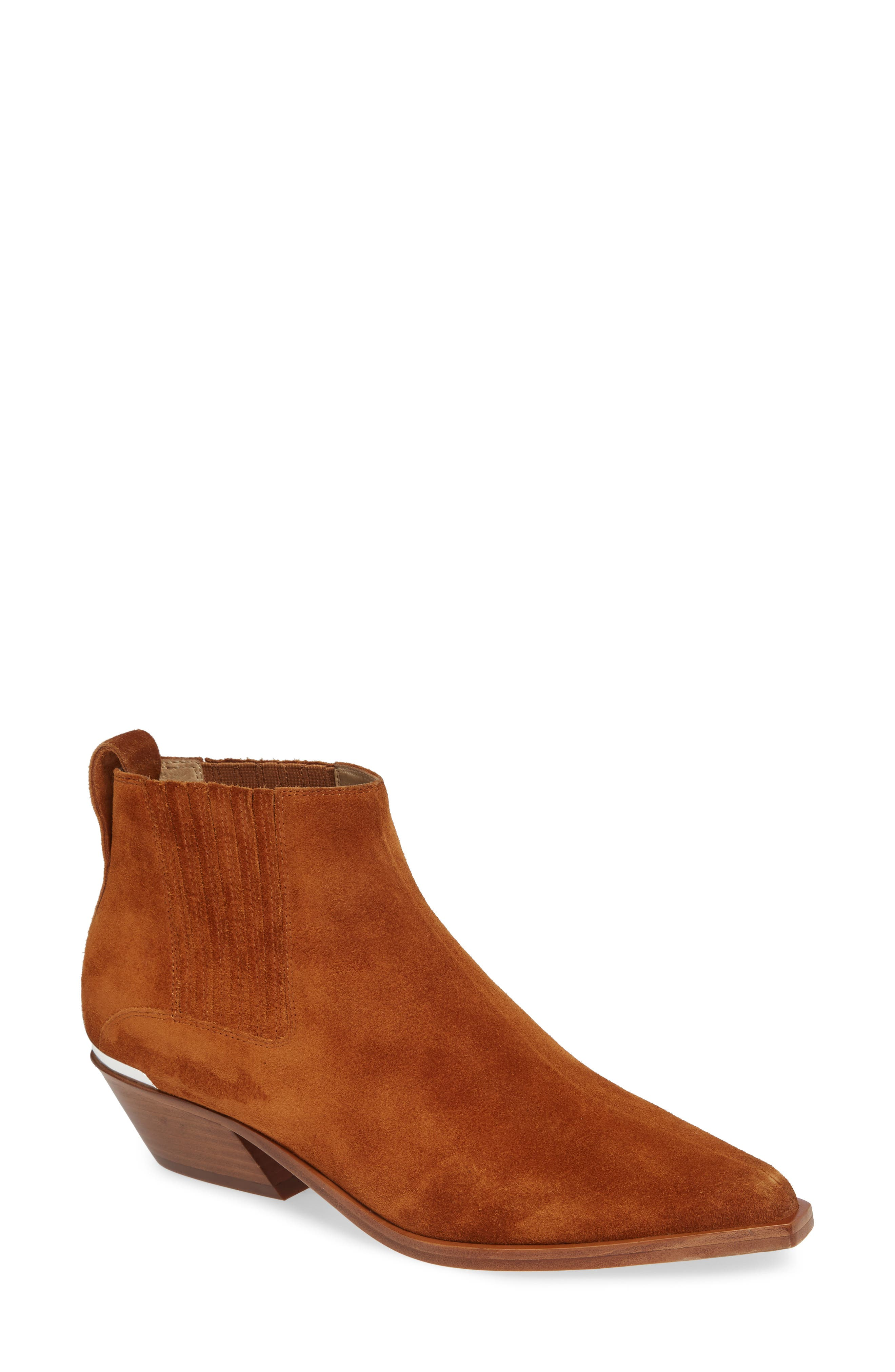 Westin Bootie,                             Main thumbnail 1, color,                             TAN SUEDE
