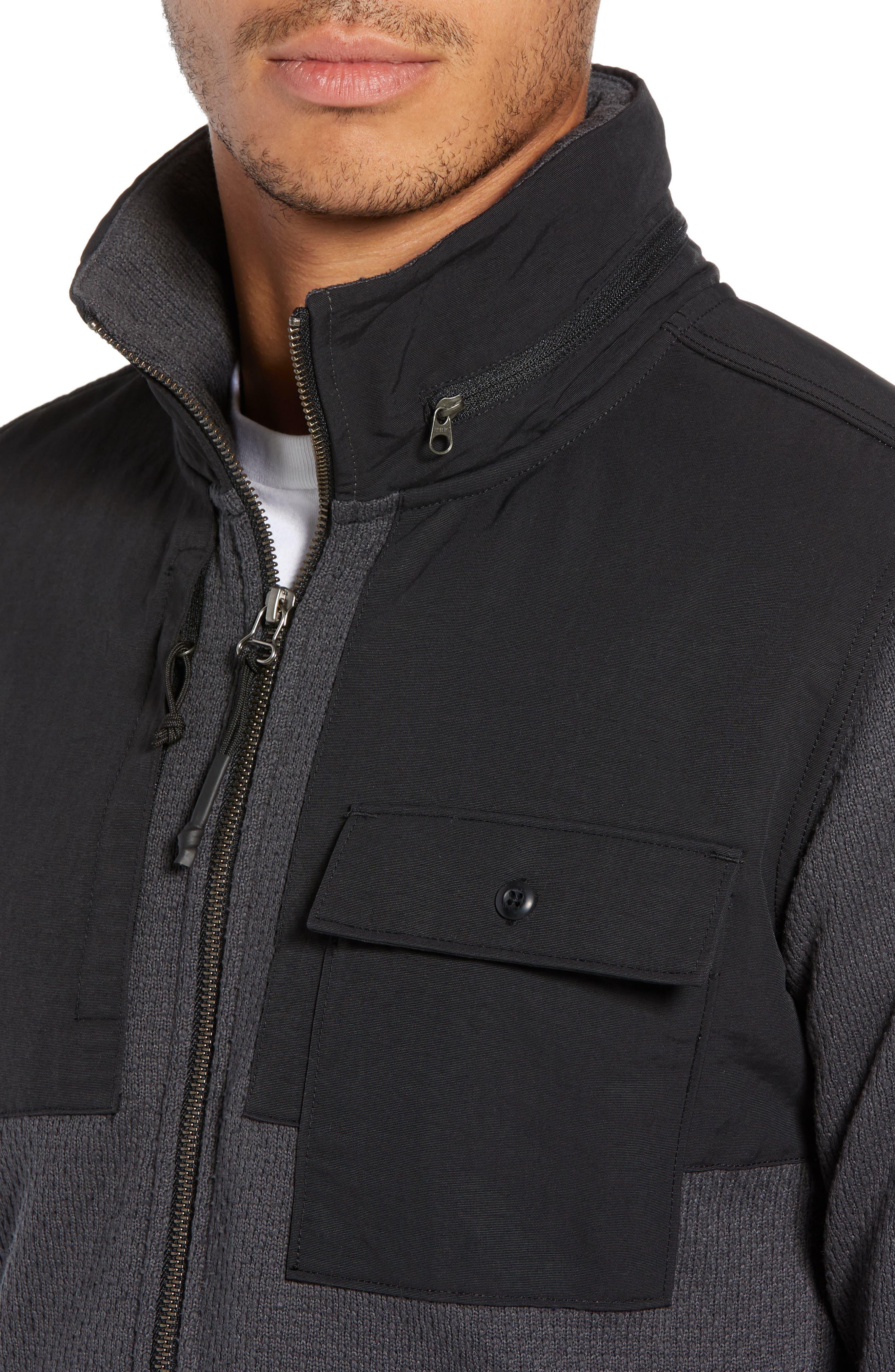 Be-Layed Back Jacket,                             Alternate thumbnail 4, color,                             ASPHALT GREY
