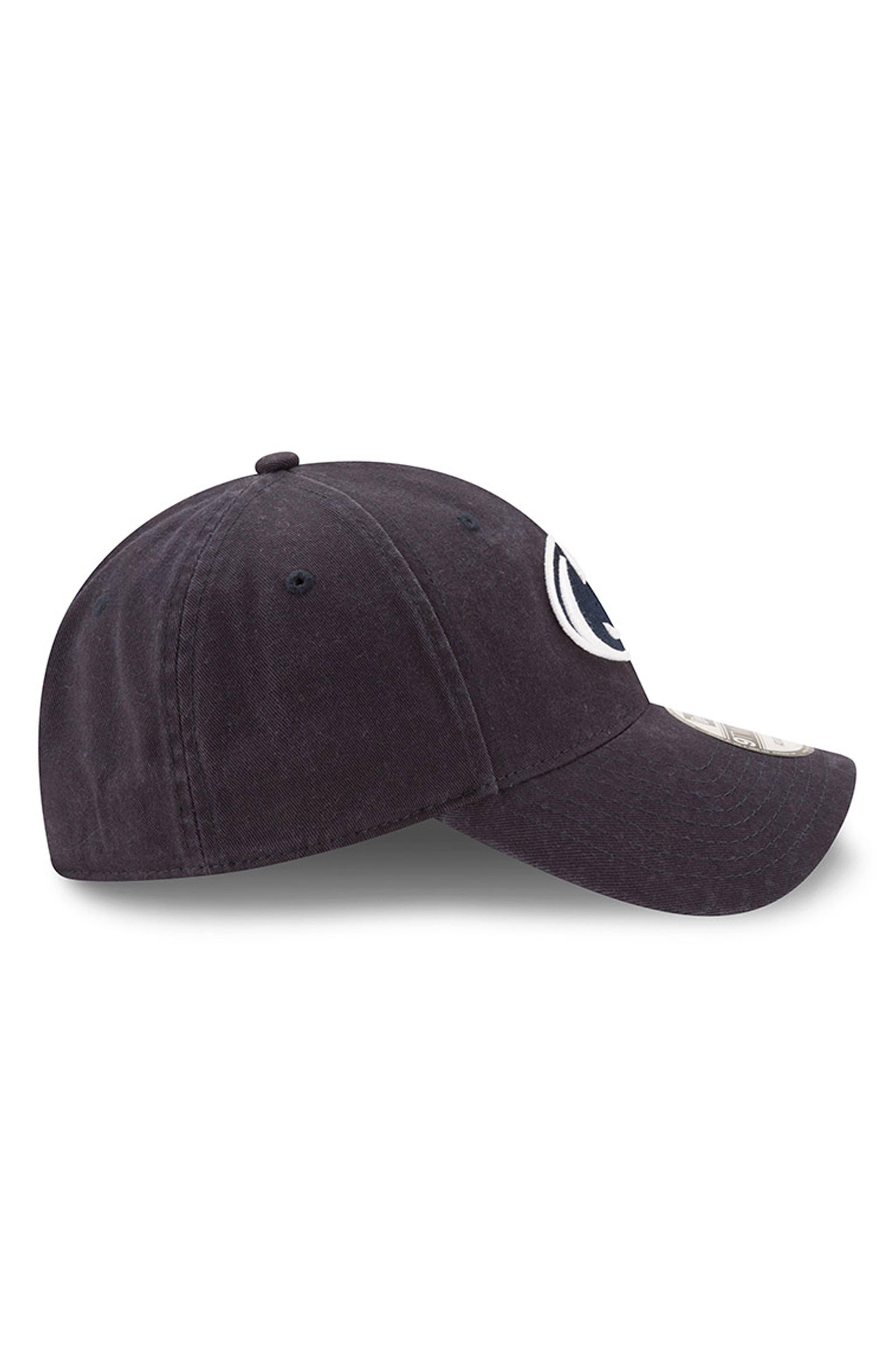 New Era Collegiate Core Classic - Penn State Nittany Lions Baseball Cap,                             Alternate thumbnail 4, color,