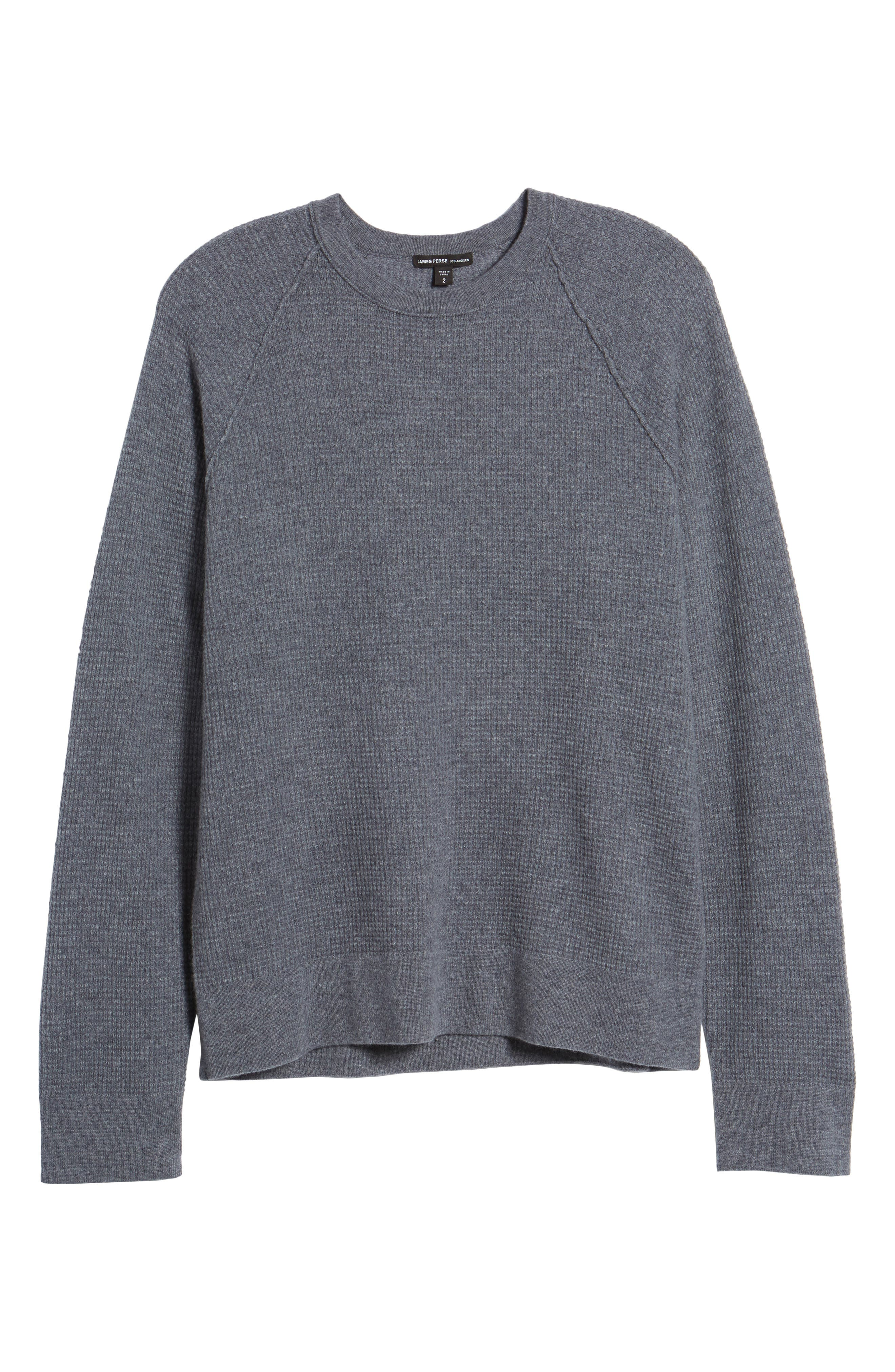 Thermal Cashmere Sweater,                             Alternate thumbnail 6, color,                             077