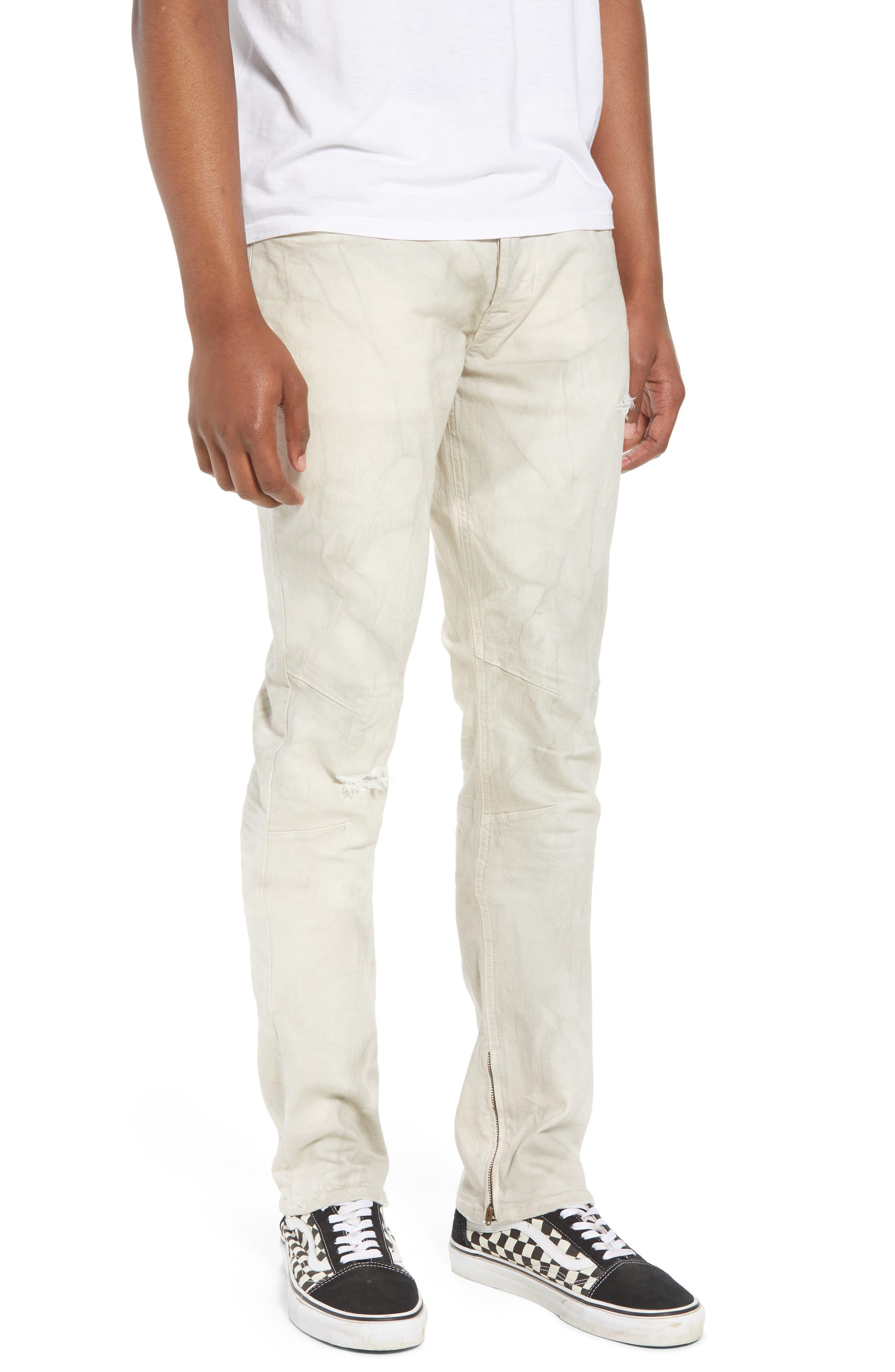 Vaughn Biker Skinny Fit Jeans,                             Main thumbnail 1, color,                             250