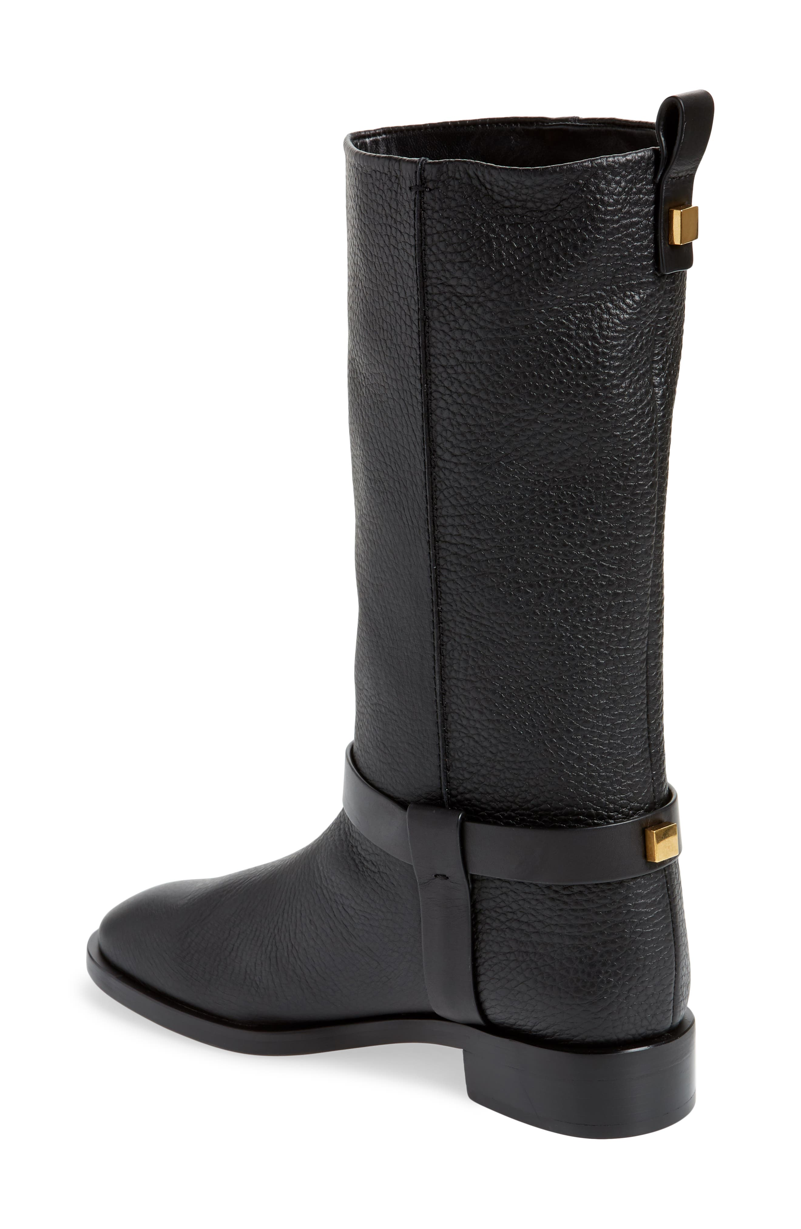 Casey Harness Boot,                             Alternate thumbnail 2, color,                             PITCH BLACK WESTPORT