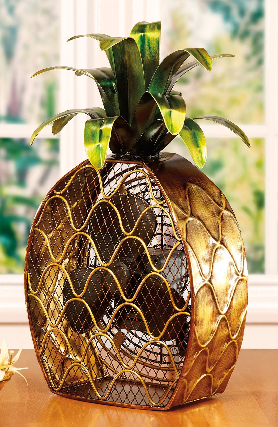 Pineapple Figurine Fan,                         Main,                         color, 200