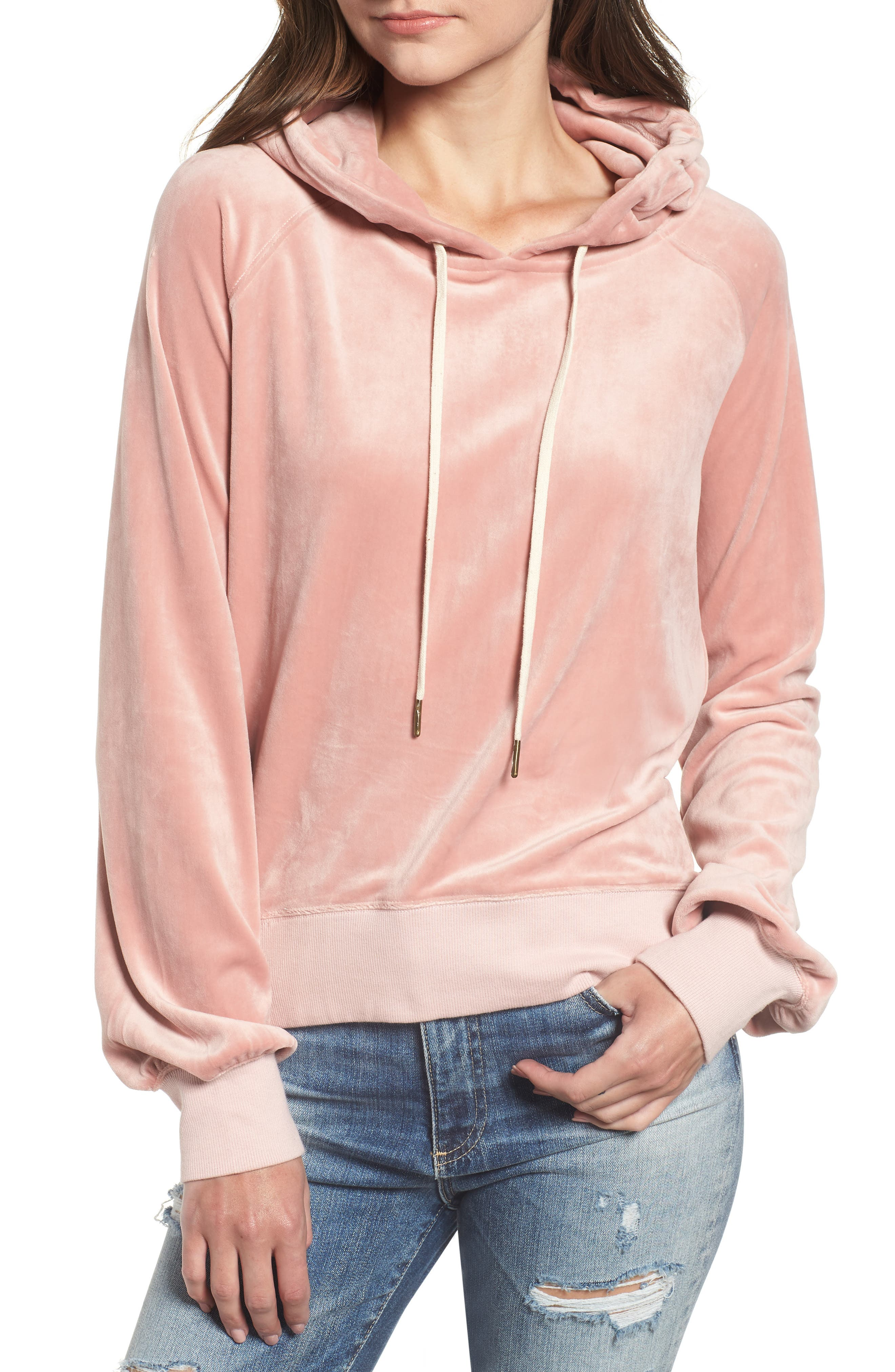 Hollywood Hoodie,                         Main,                         color, FOXGLOVE