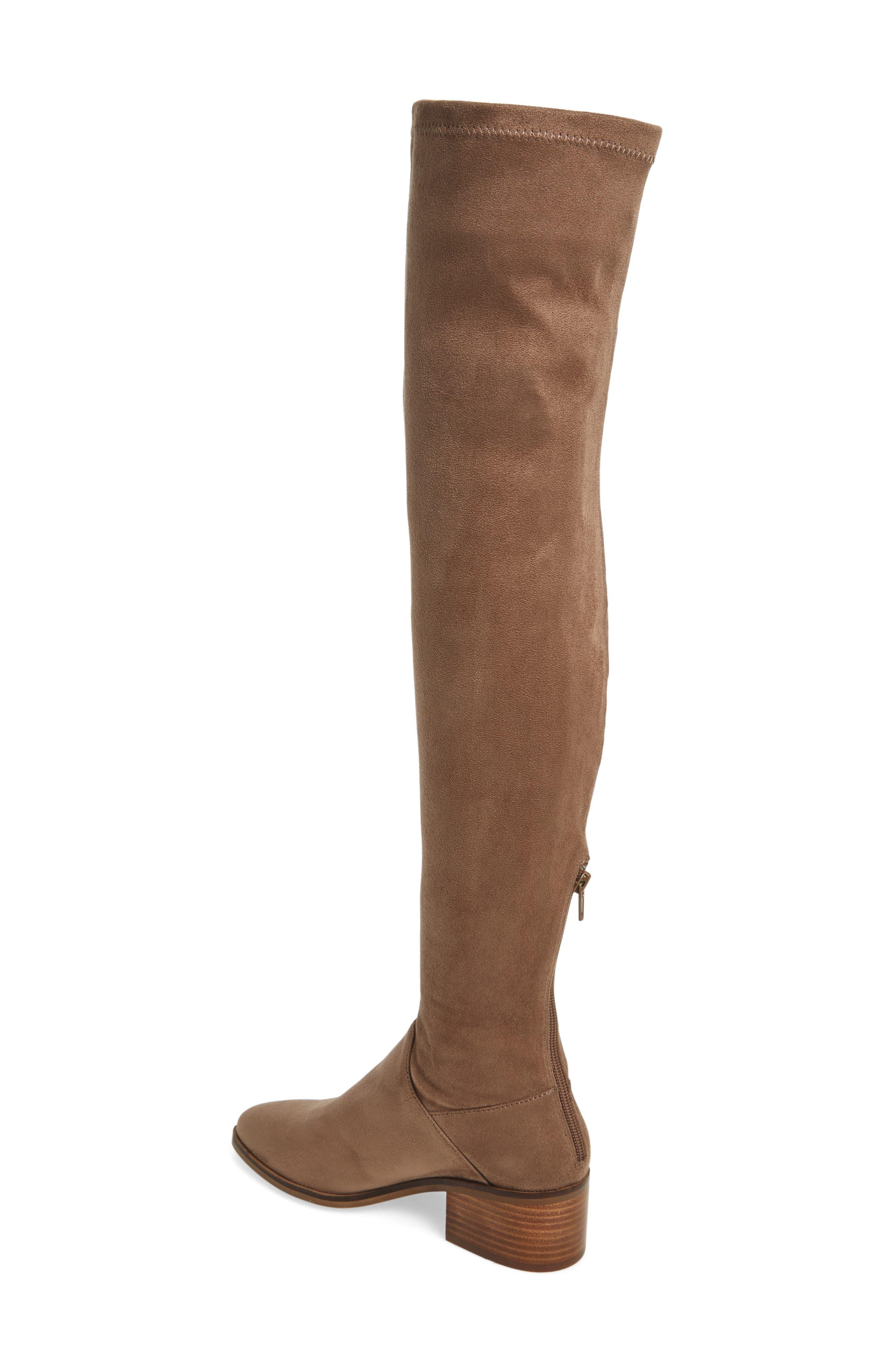 Gabbie Thigh High Boot,                             Alternate thumbnail 4, color,