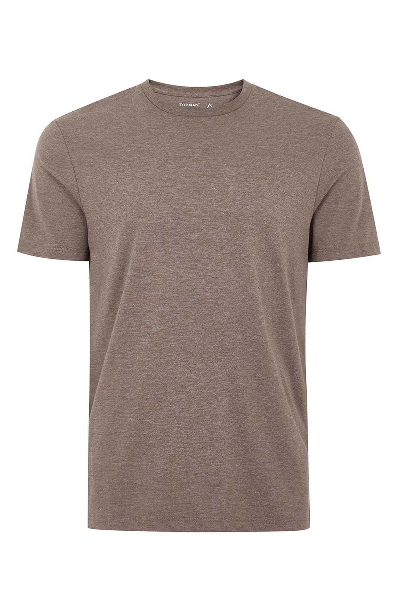 Slim Fit Crewneck T-Shirt,                             Alternate thumbnail 195, color,