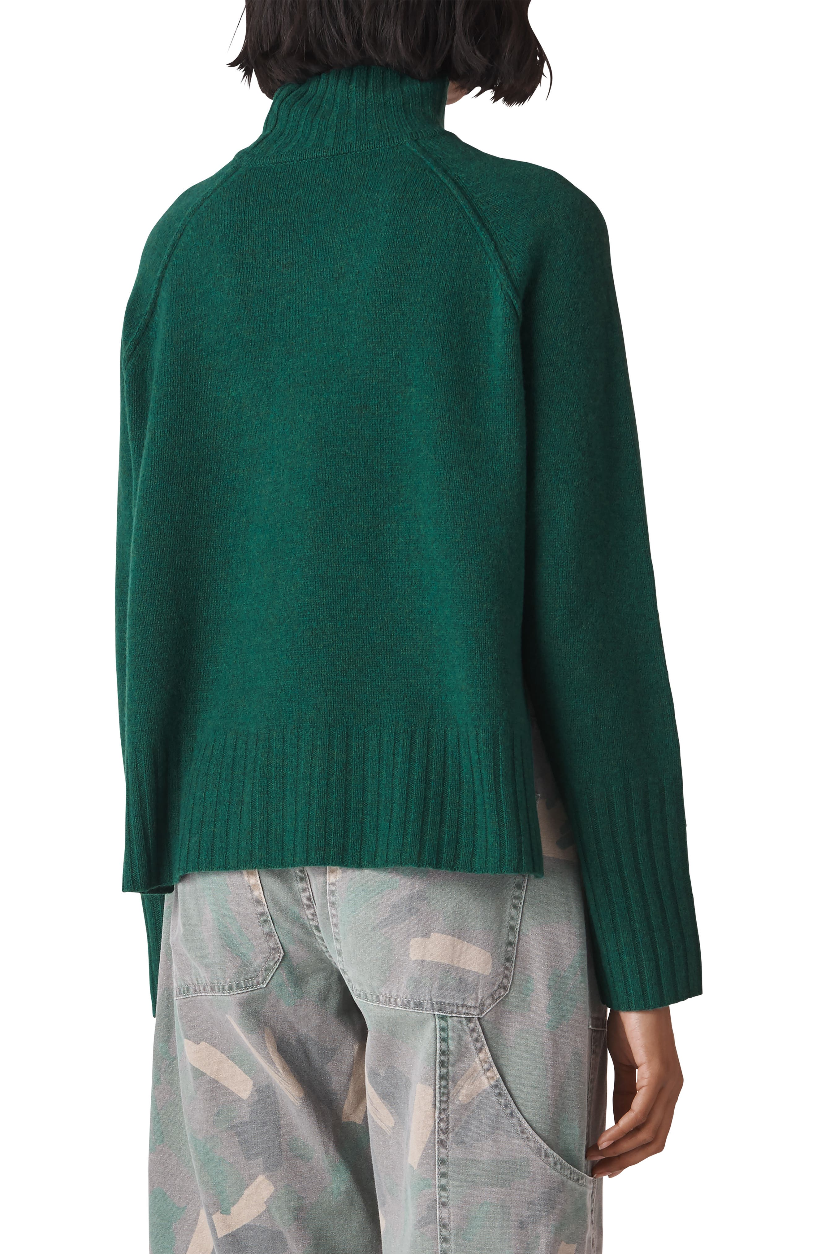 Merino Wool Sweater,                             Alternate thumbnail 2, color,                             GREEN