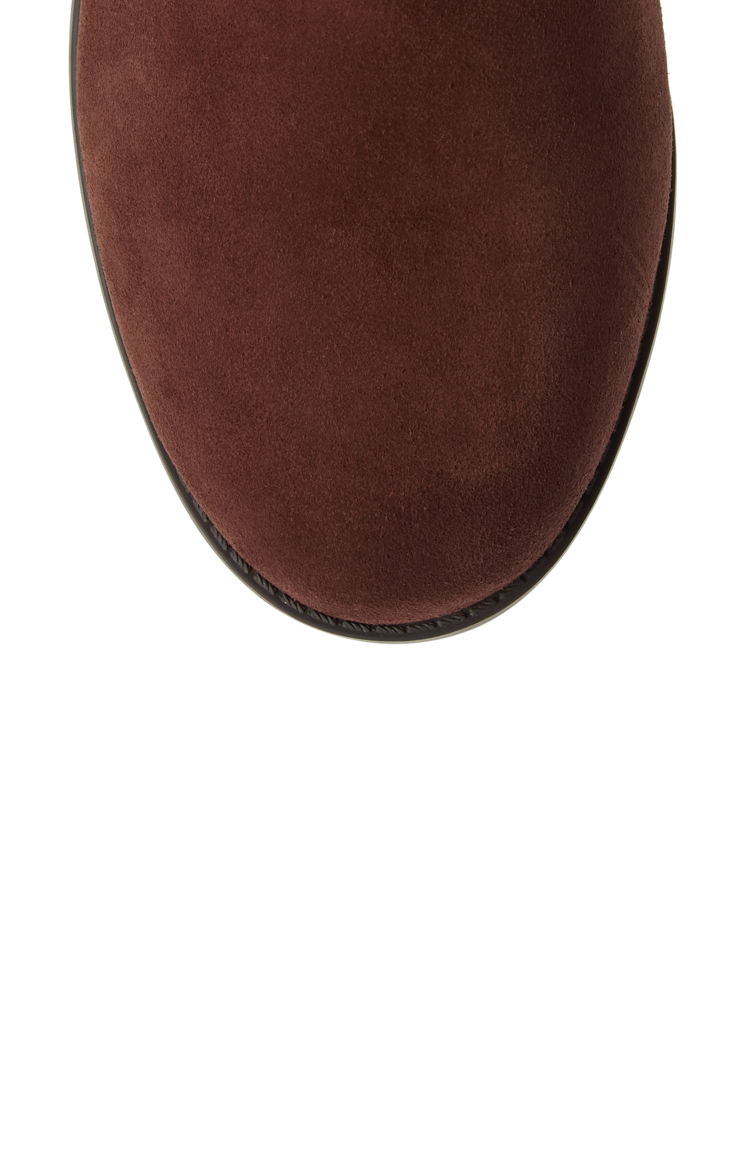 Downing Boot,                             Alternate thumbnail 5, color,                             CHOCOLATE SUEDE