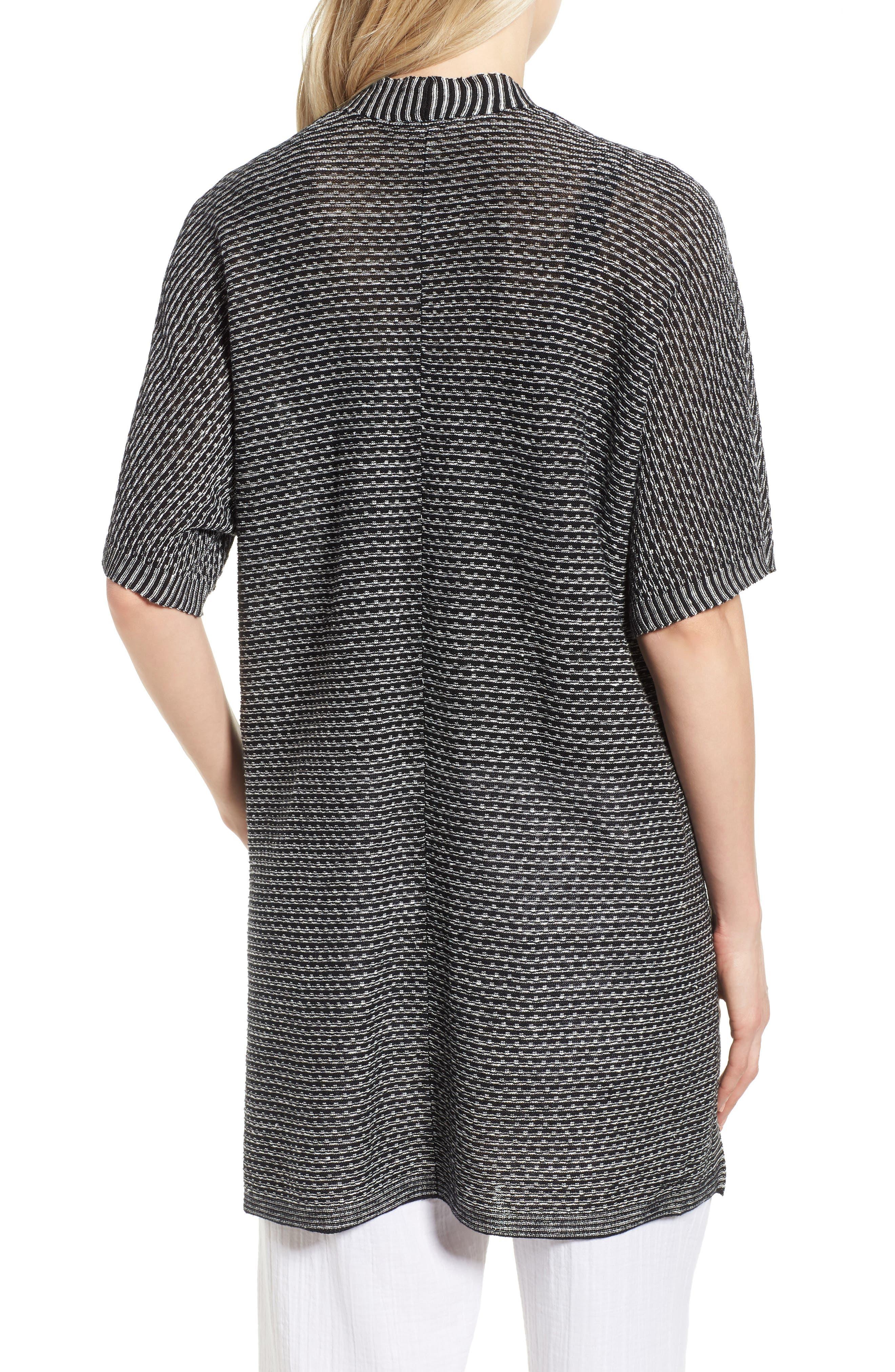 Organic Linen Kimono Cardigan,                             Alternate thumbnail 2, color,