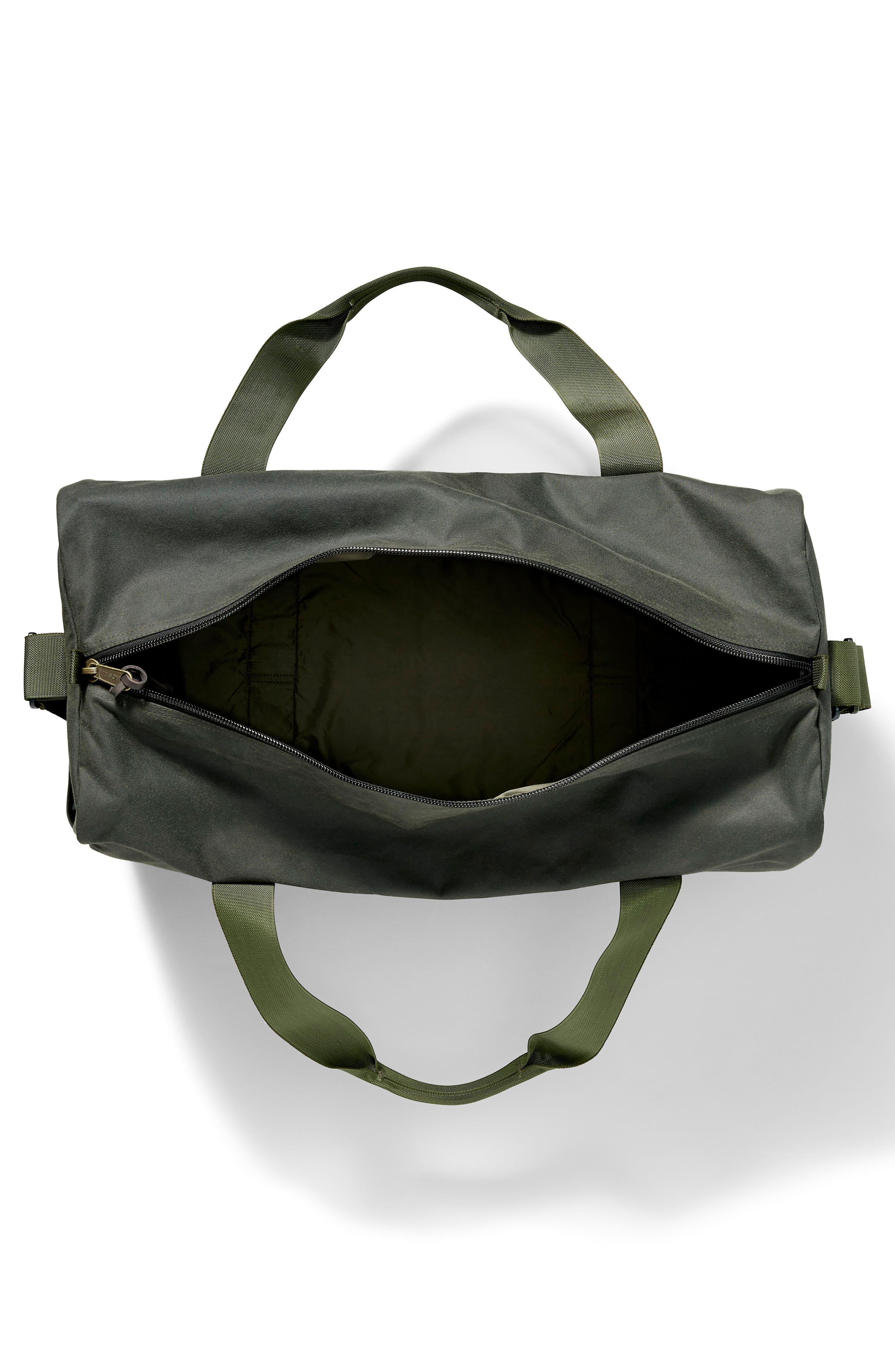 FILSON,                             Medium Field Duffel Bag,                             Alternate thumbnail 3, color,                             SPRUCE