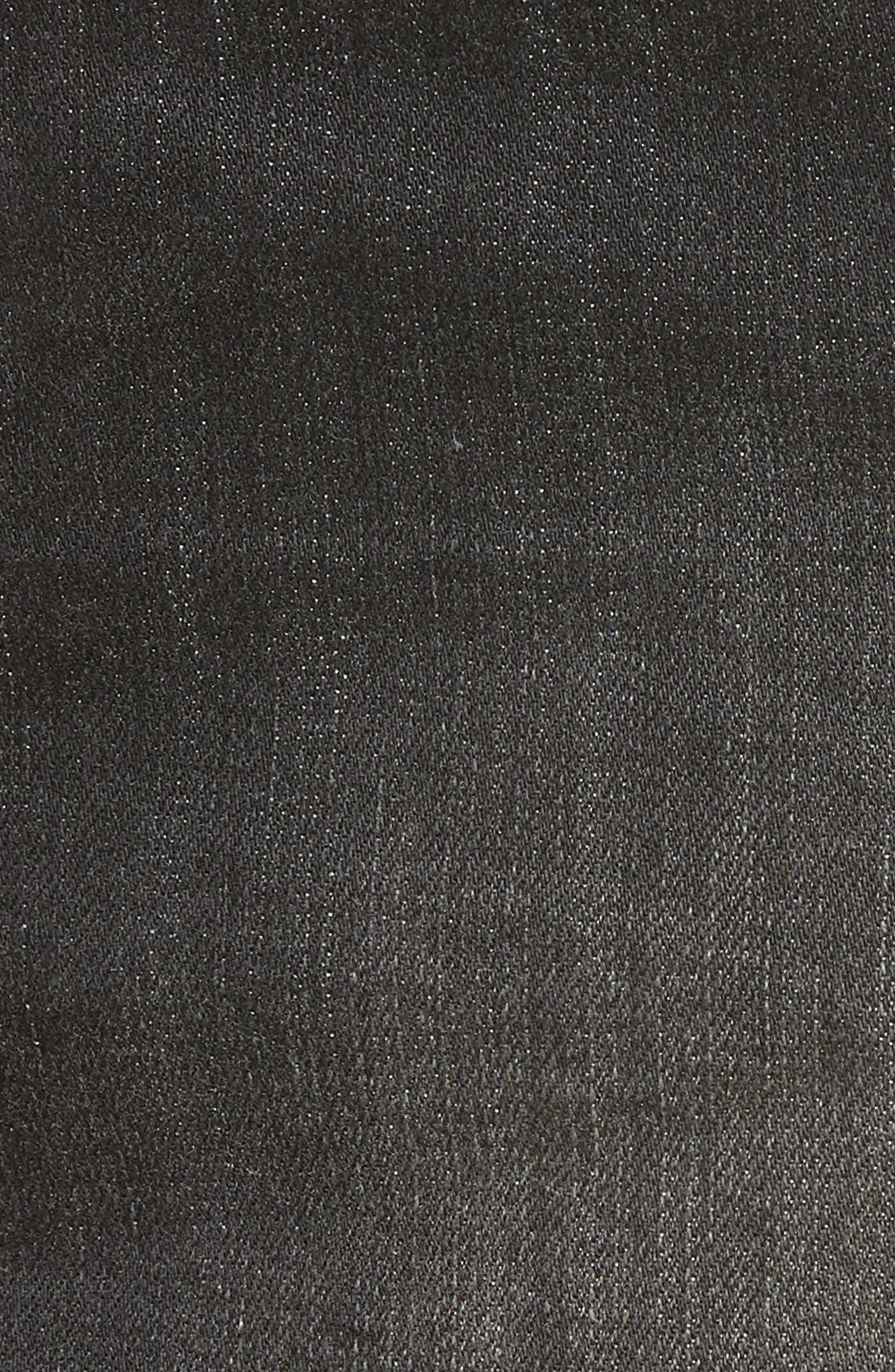 1822 DENIM,                             Cuffed Button Fly Denim Shorts,                             Alternate thumbnail 6, color,                             400