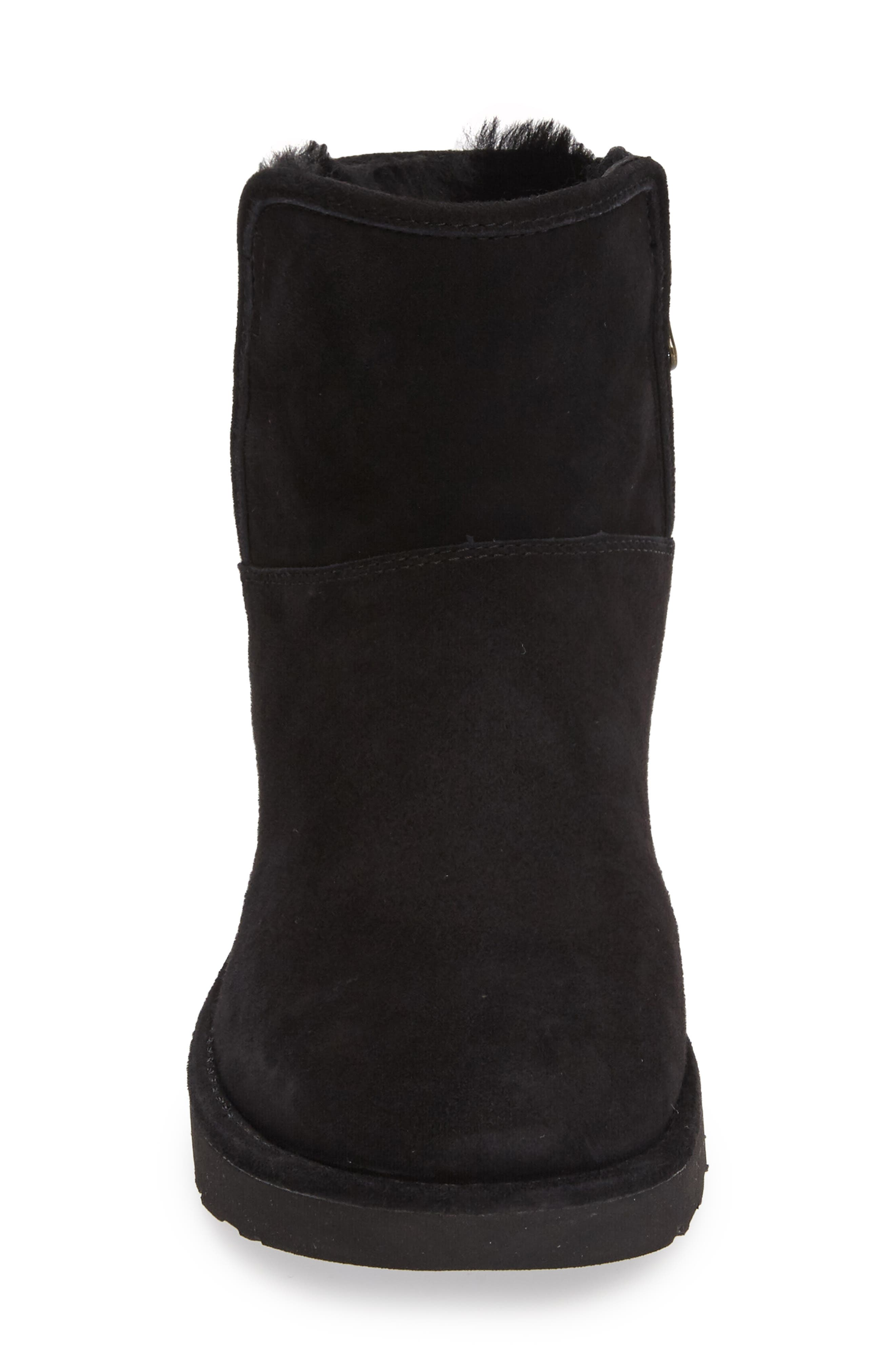 Abree II Mini Boot,                             Alternate thumbnail 4, color,                             NERO SUEDE