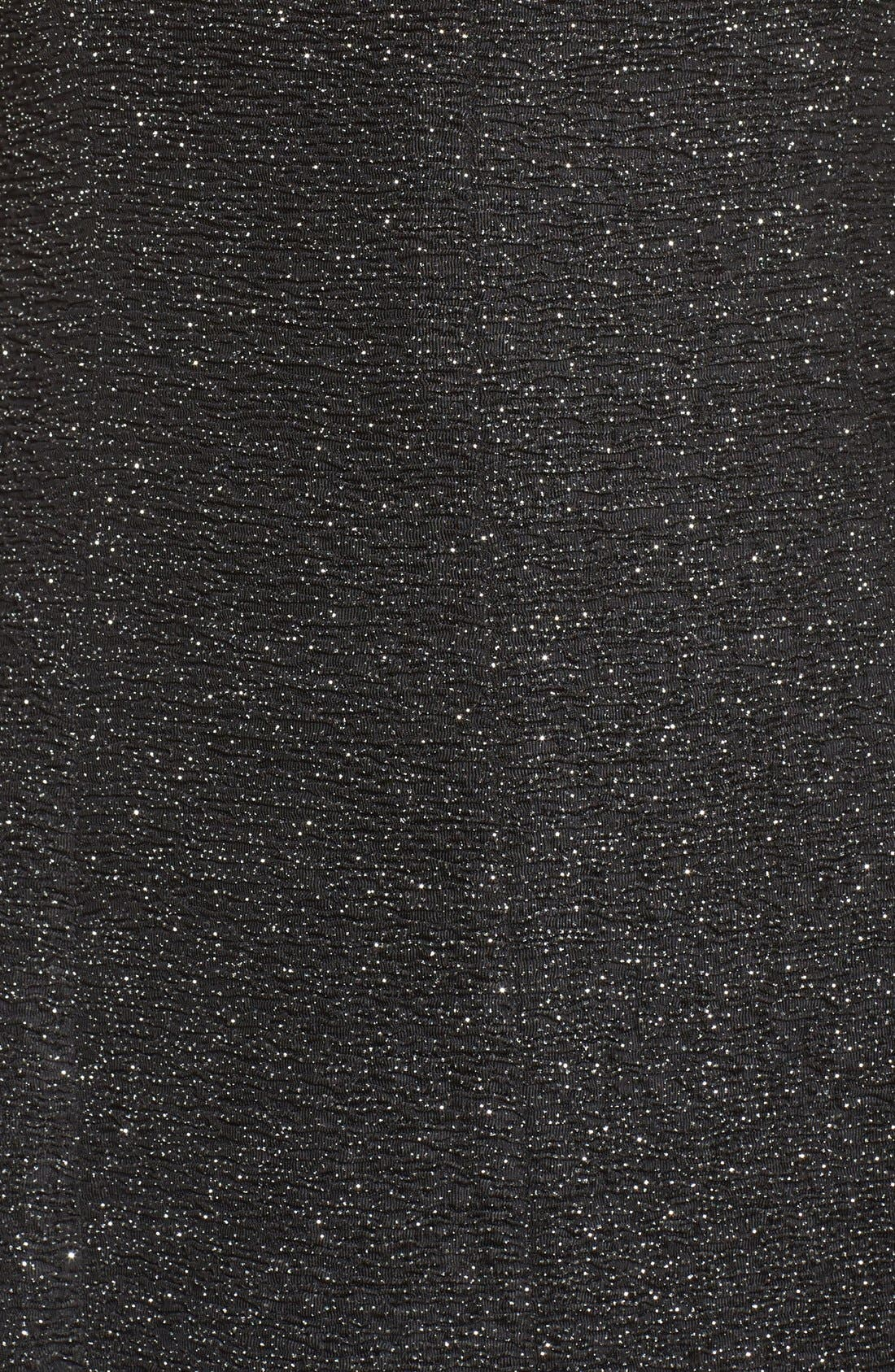 Glitter Knit Gown,                             Alternate thumbnail 5, color,                             046