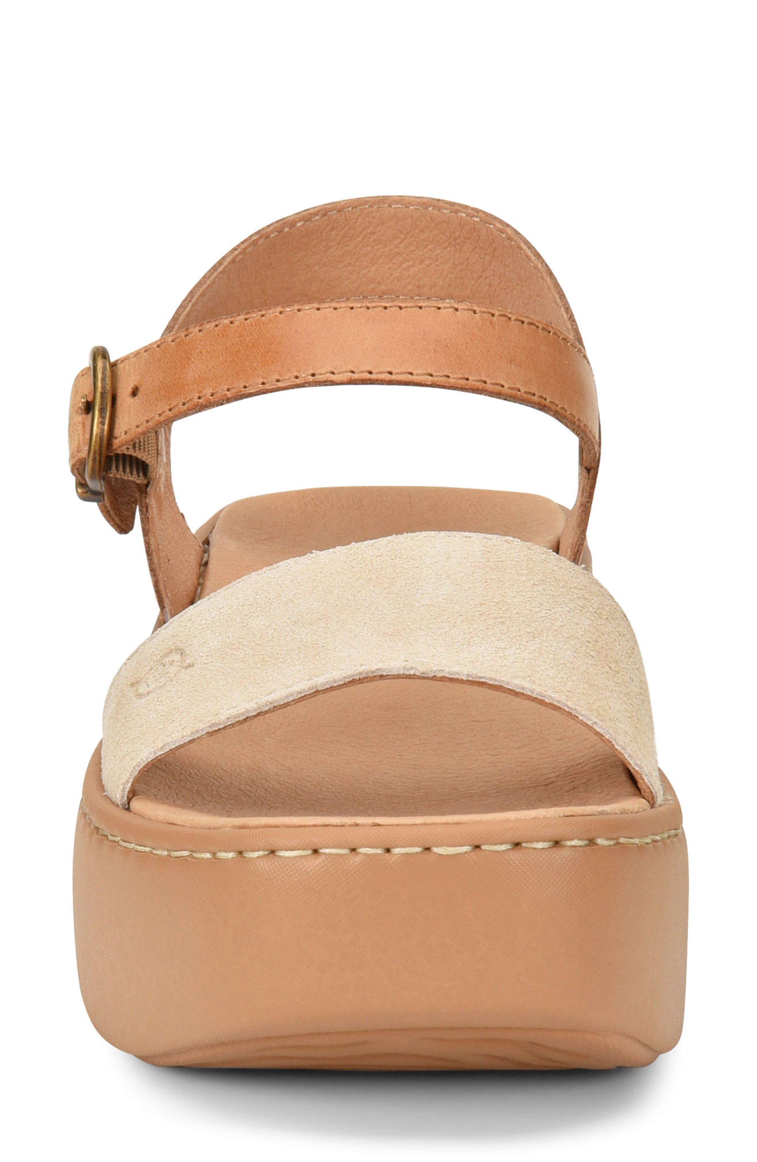 Breaker Platform Sandal,                             Alternate thumbnail 4, color,                             260