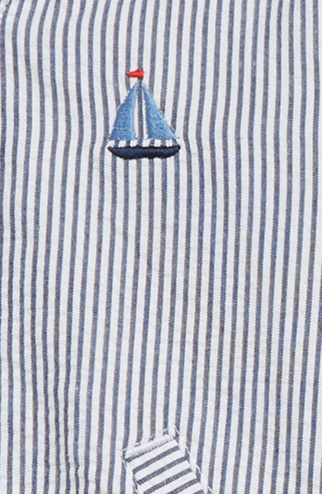 Sails Jacket, Bodysuit & Pants Set,                             Alternate thumbnail 2, color,                             BLUE