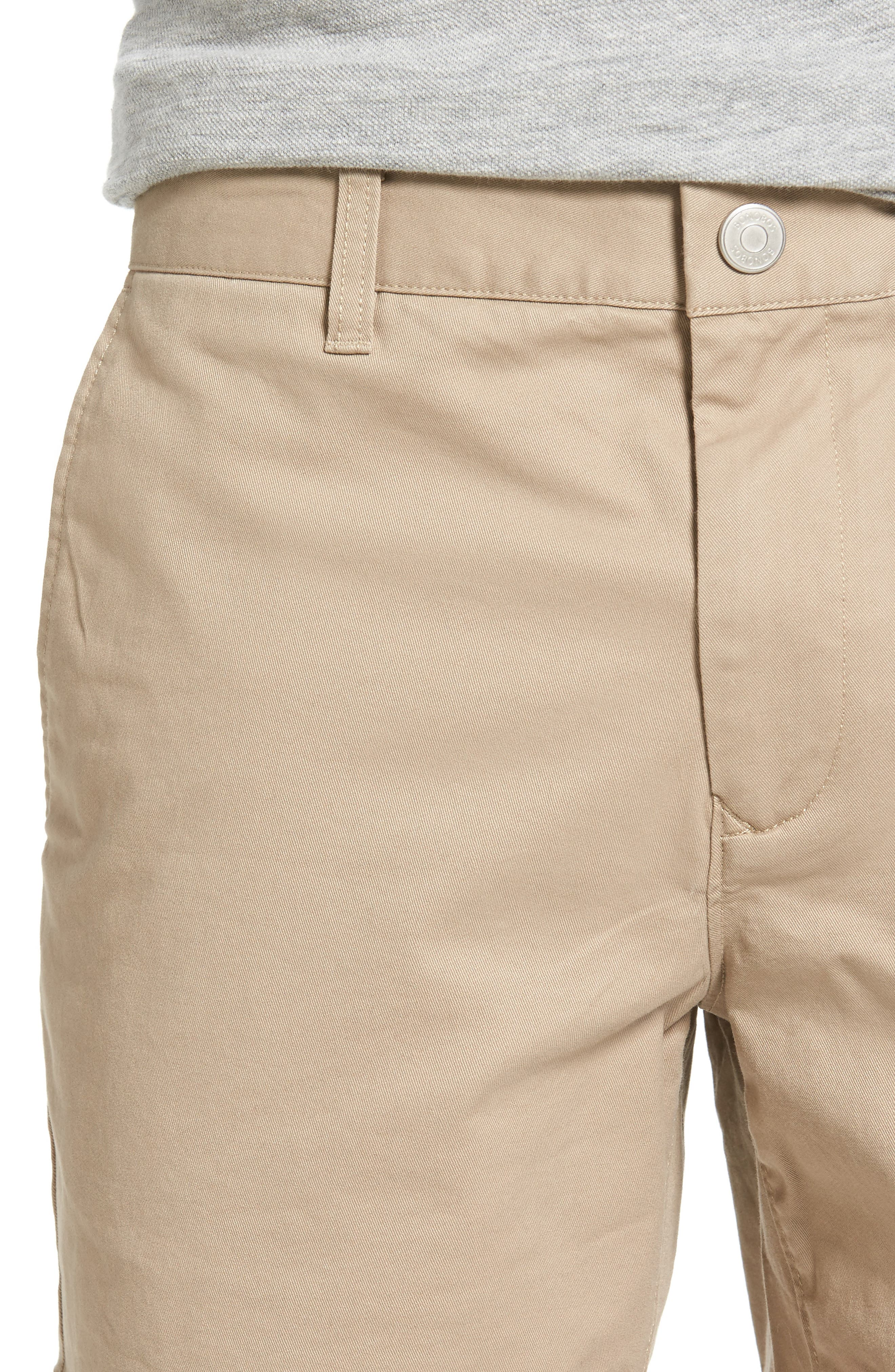 Stretch Washed Chino 5-Inch Shorts,                             Alternate thumbnail 106, color,