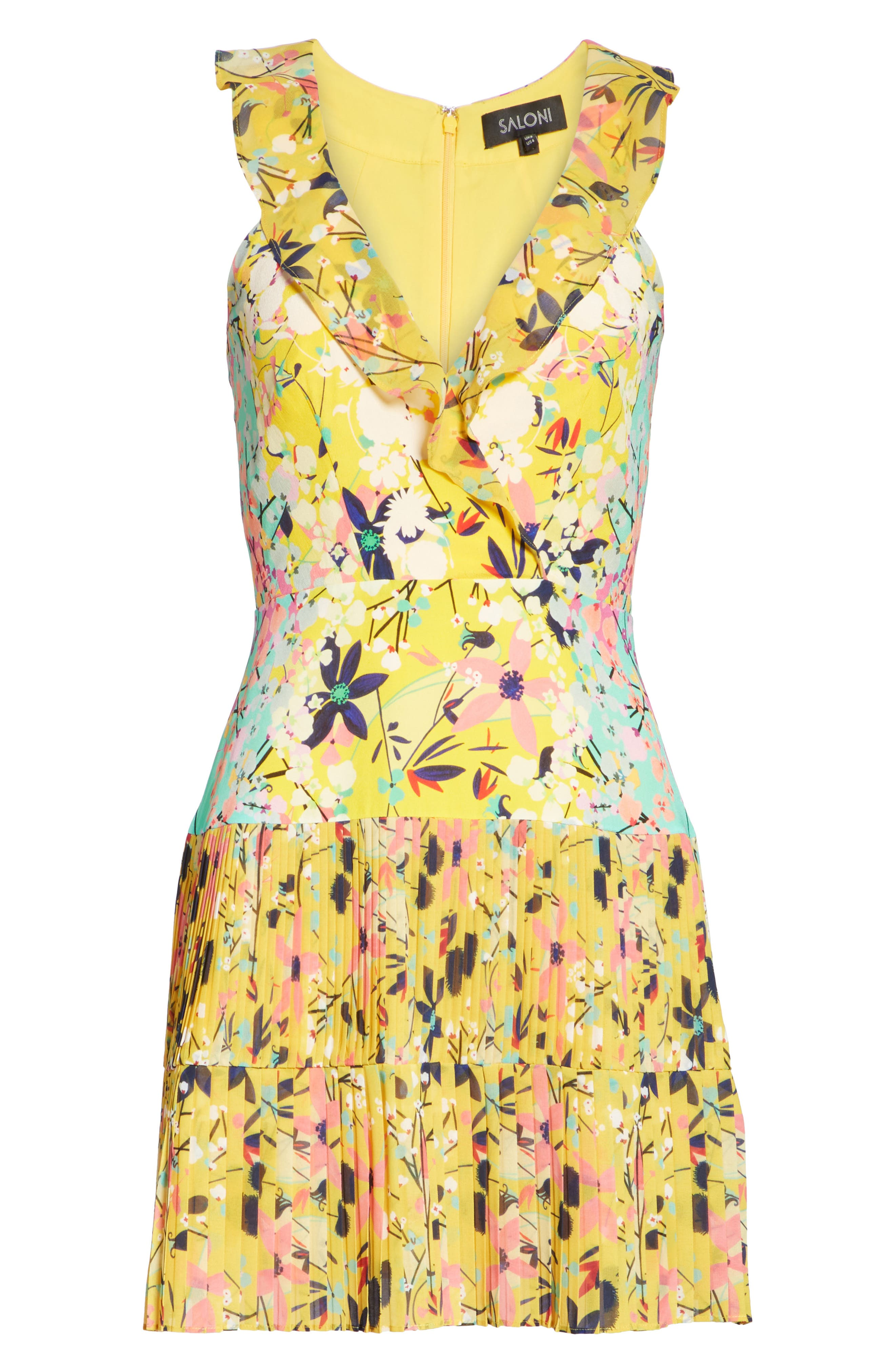 Amy Fit & Flare Dress,                             Alternate thumbnail 12, color,