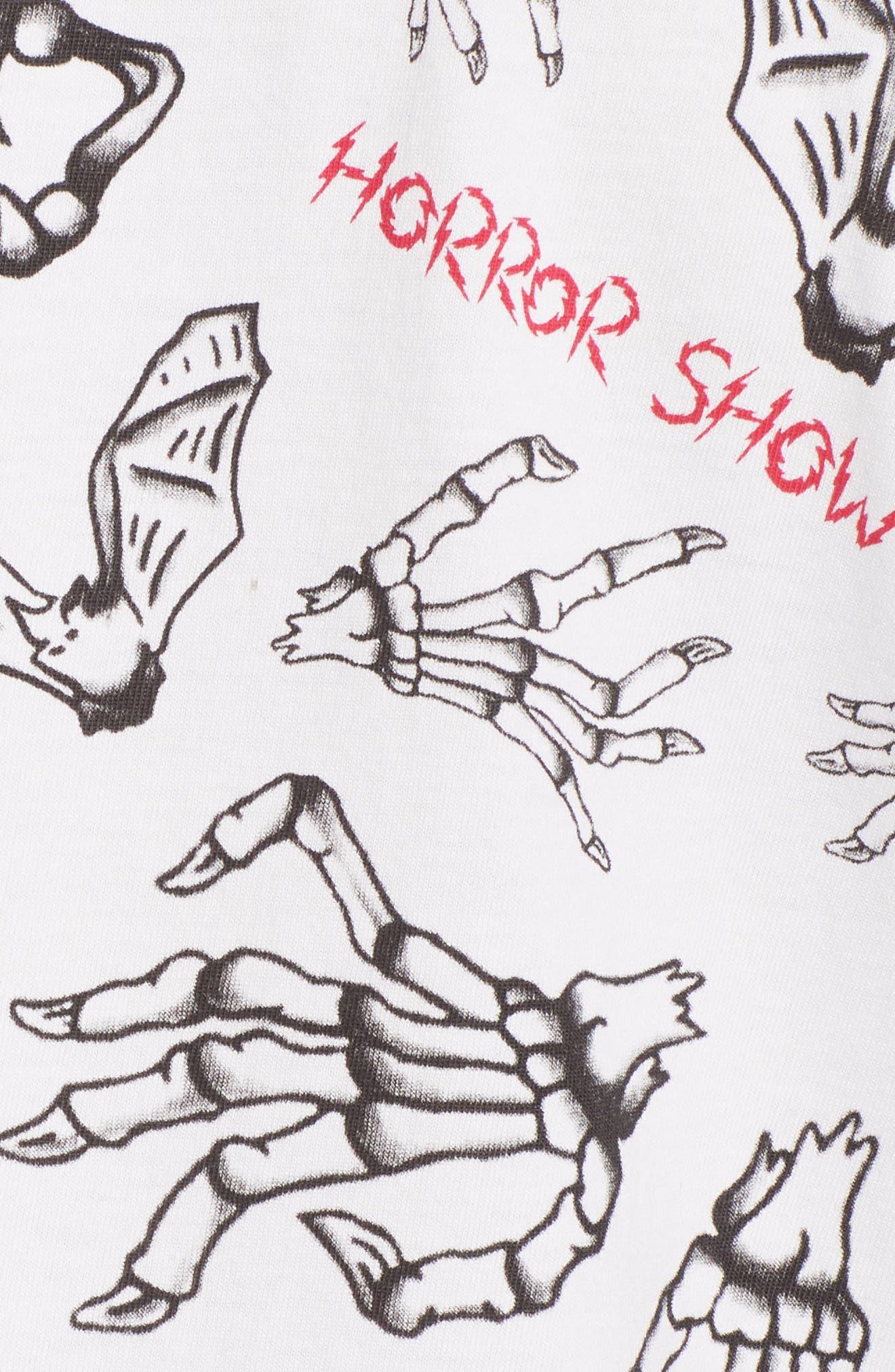Horror Show Graphic T-Shirt,                             Alternate thumbnail 5, color,                             100