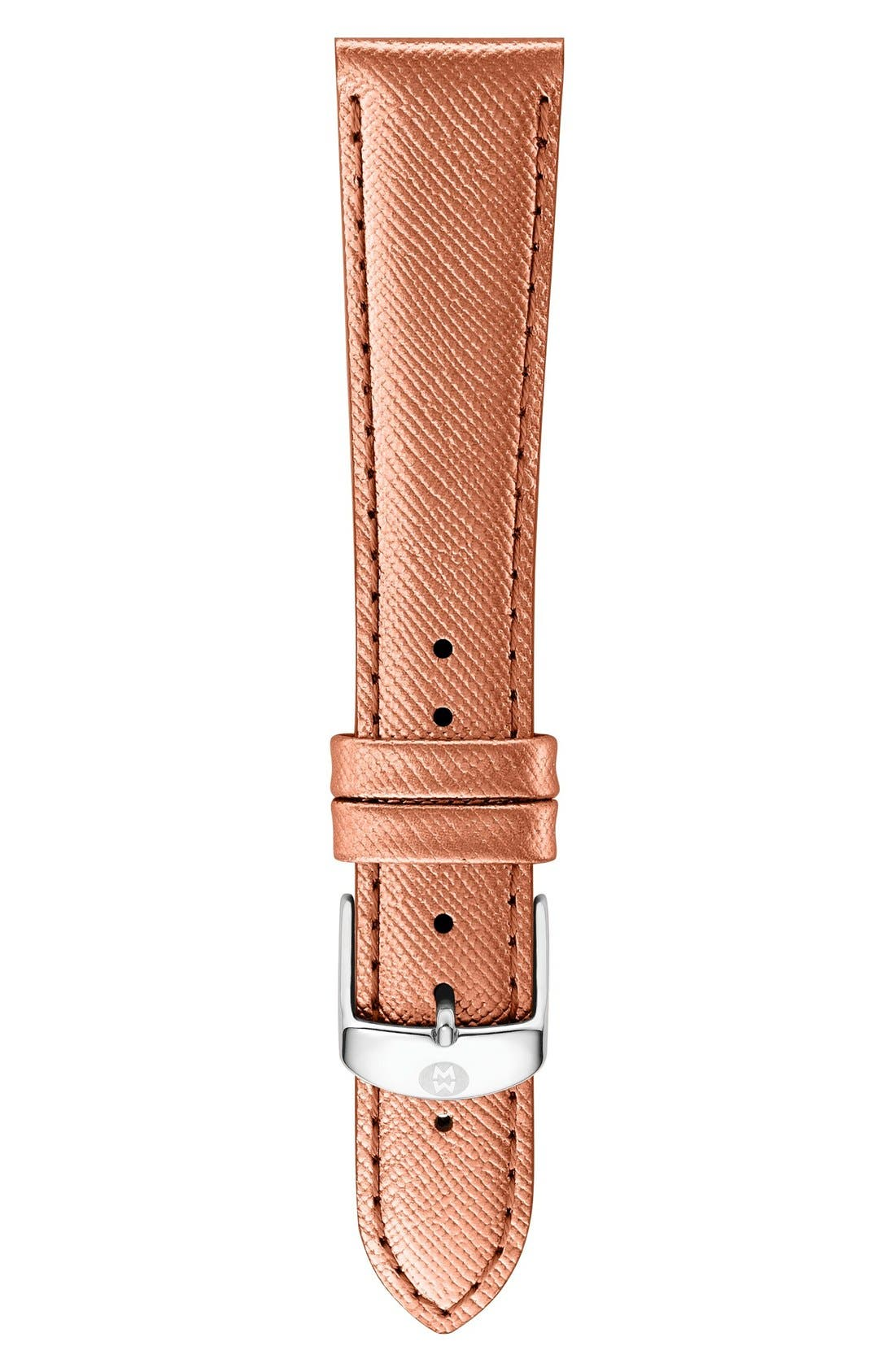 16mm Leather Watch Strap,                             Main thumbnail 19, color,