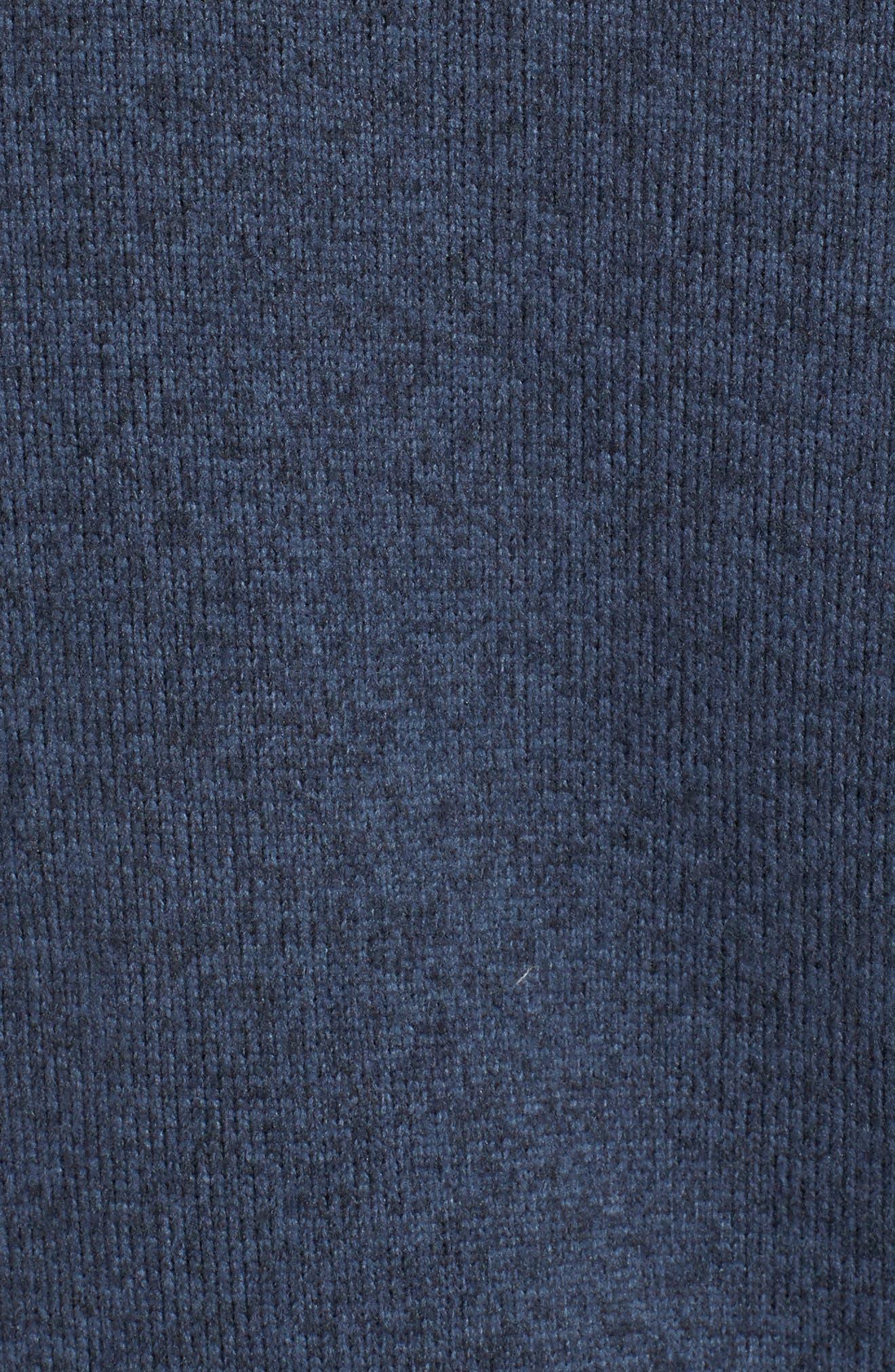 Gordon Lyons Quarter-Zip Fleece Jacket,                             Alternate thumbnail 6, color,                             URBAN NAVY HEATHER