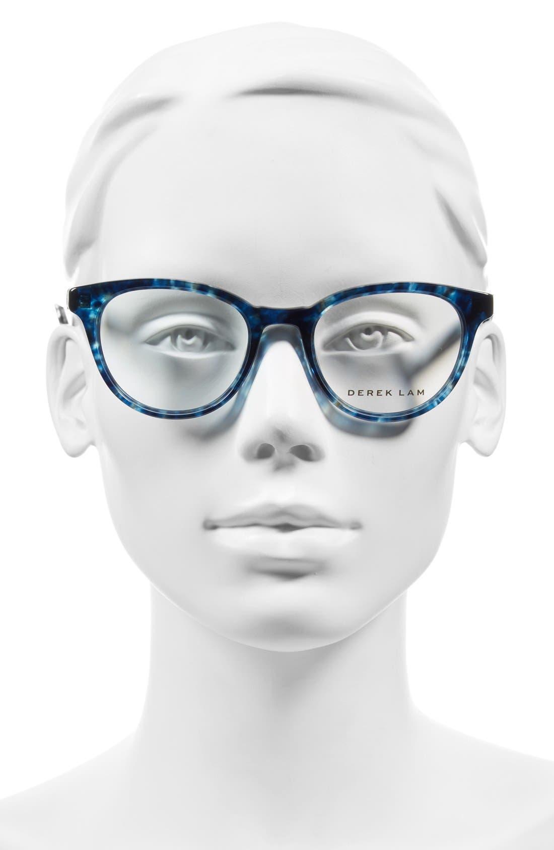 50mm Optical Glasses,                             Alternate thumbnail 2, color,                             BLUE CLOUD
