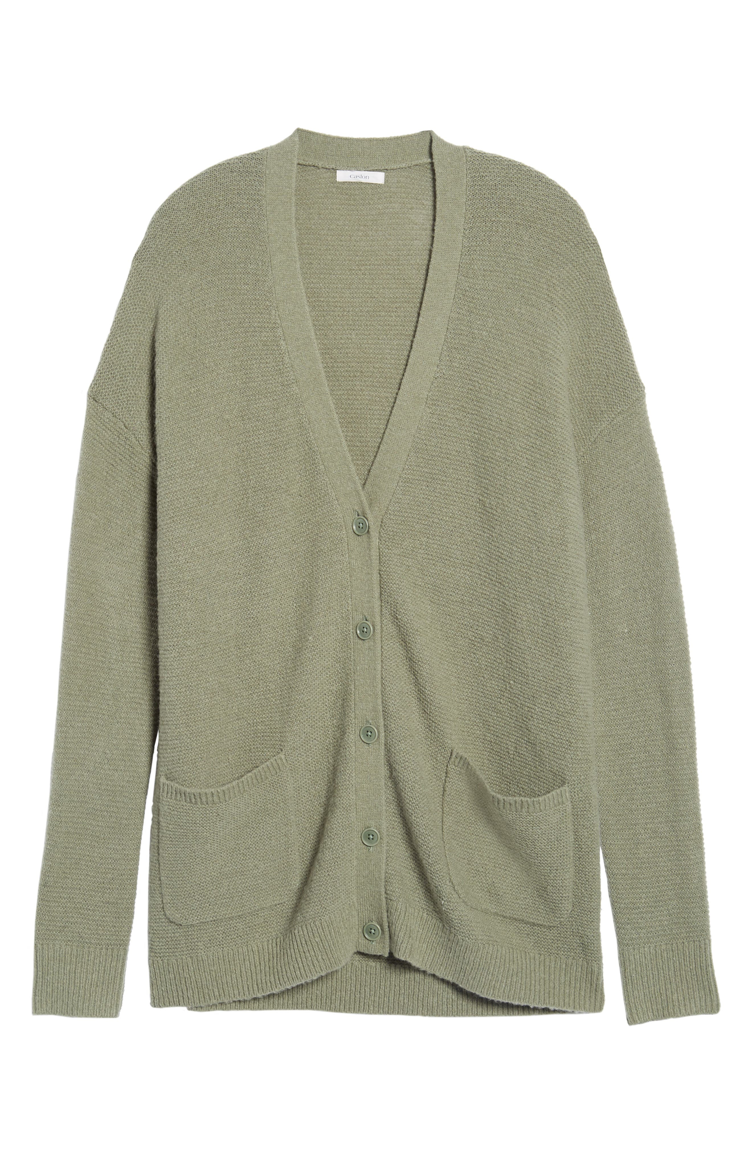 Relaxed Boyfriend Cardigan,                             Alternate thumbnail 37, color,