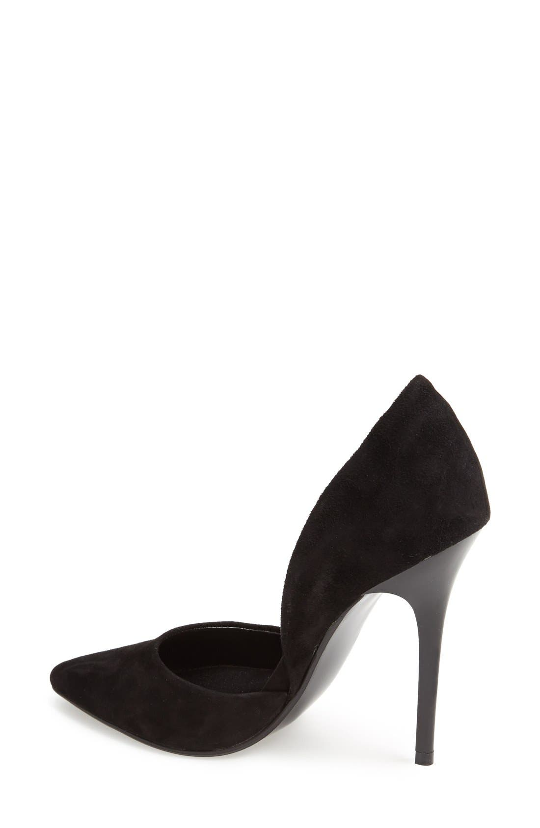 'Varcityy' Pointy Toe Pump,                             Alternate thumbnail 2, color,                             006