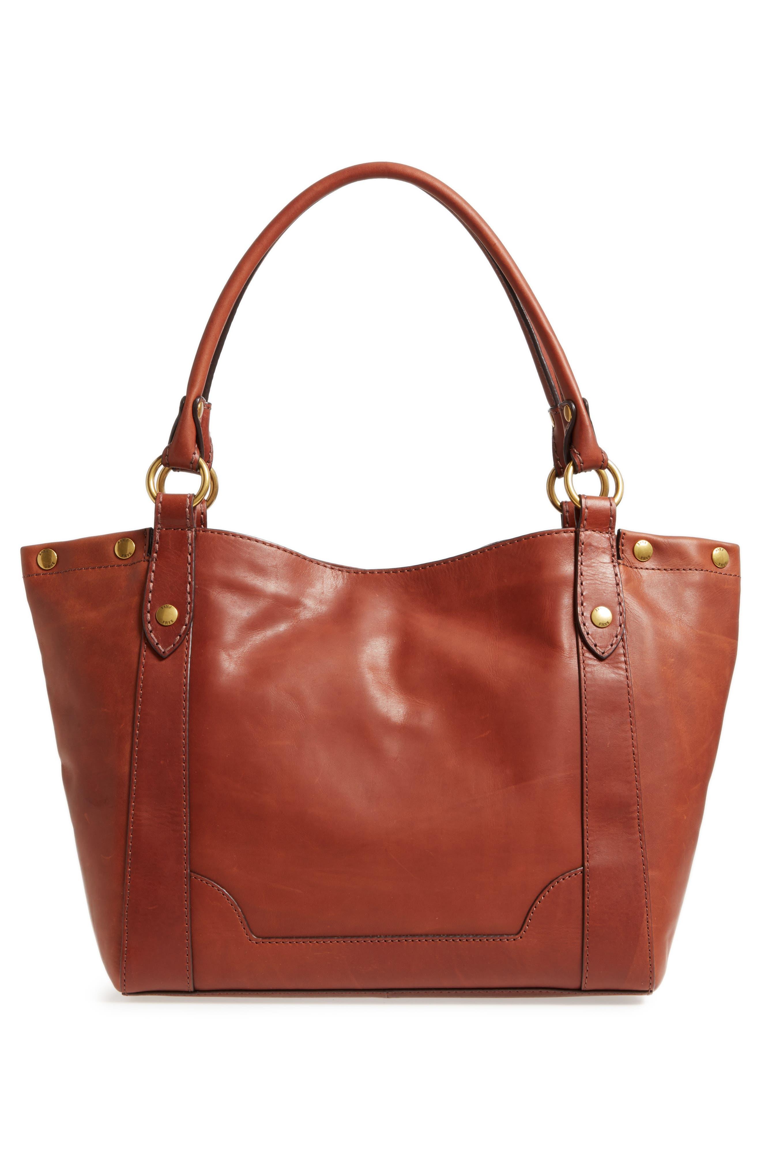Melissa Leather Shoulder Bag,                             Alternate thumbnail 8, color,