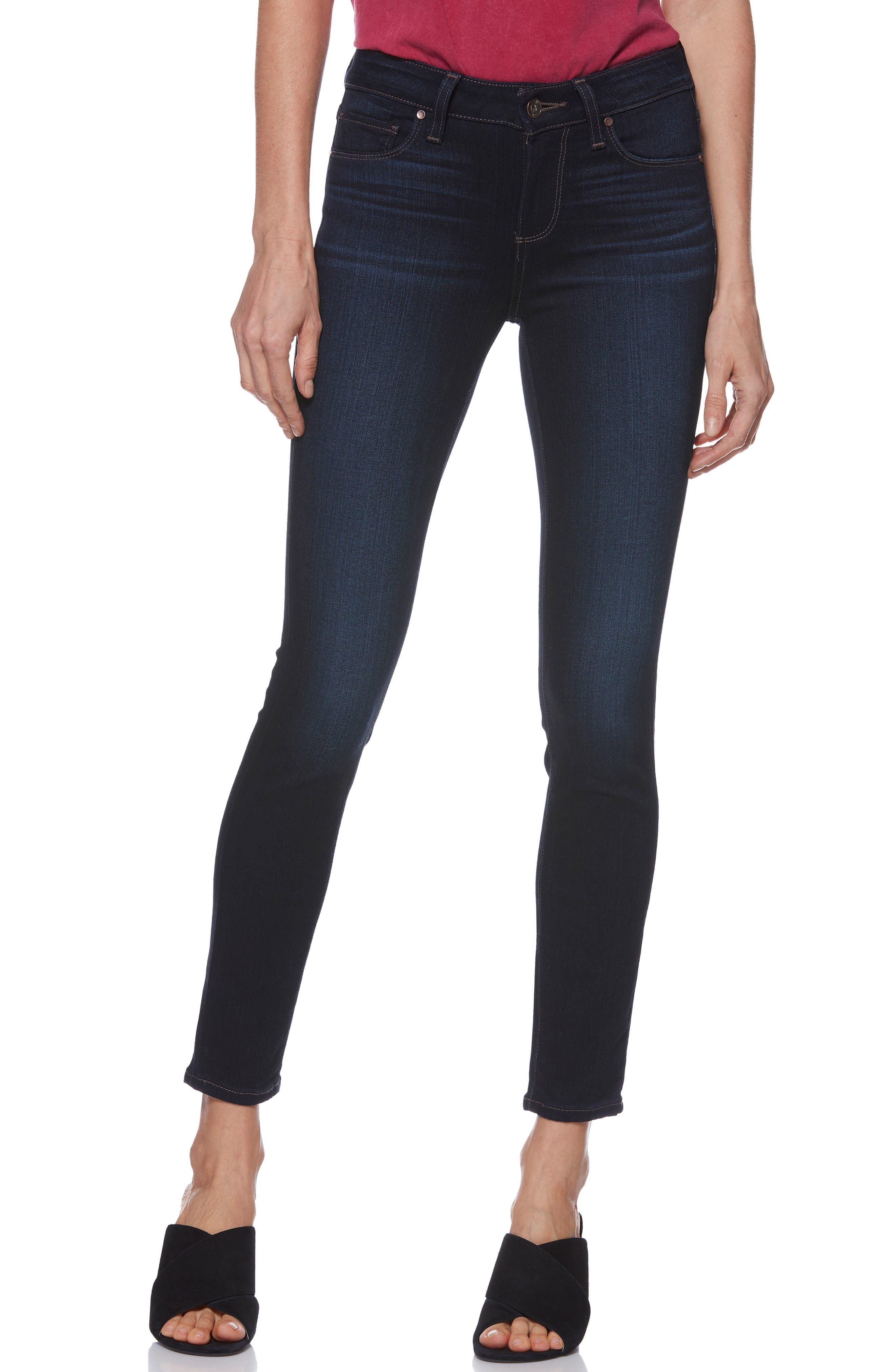 Transcend - Verdugo Ankle Skinny Jeans,                         Main,                         color, 400