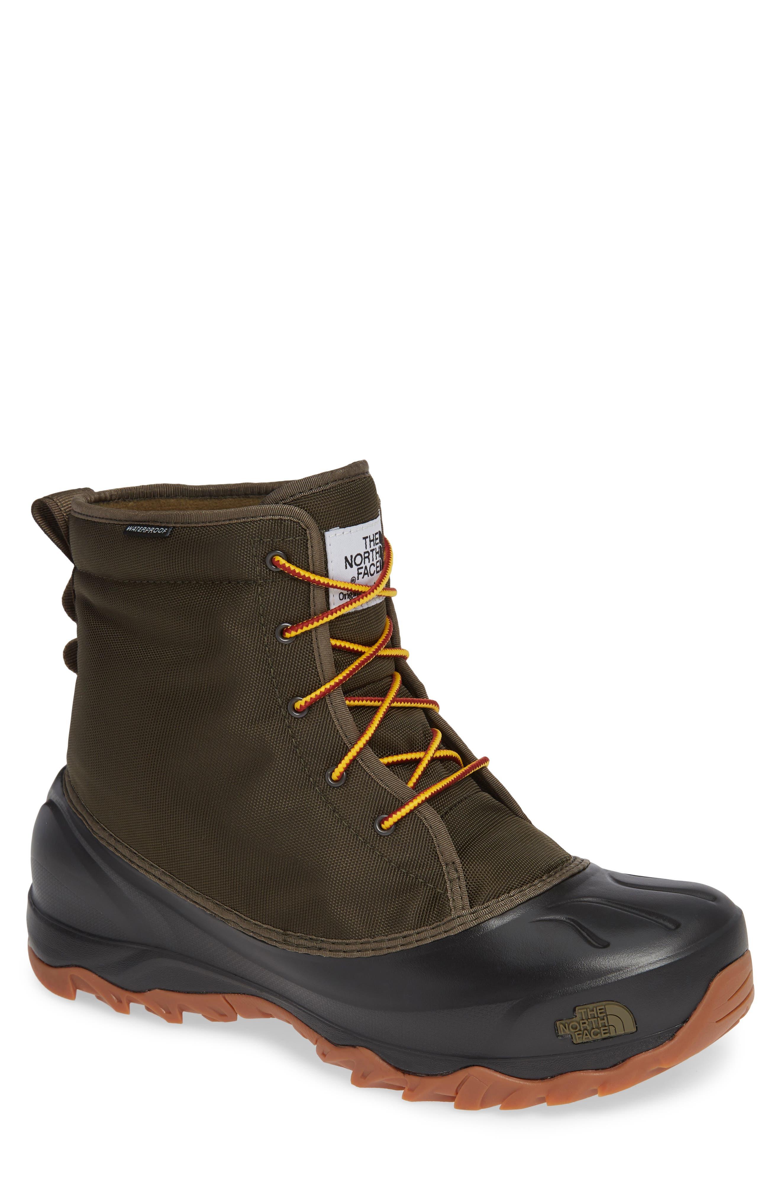 The North Face Tsumoru Snow Waterproof Boot, Green