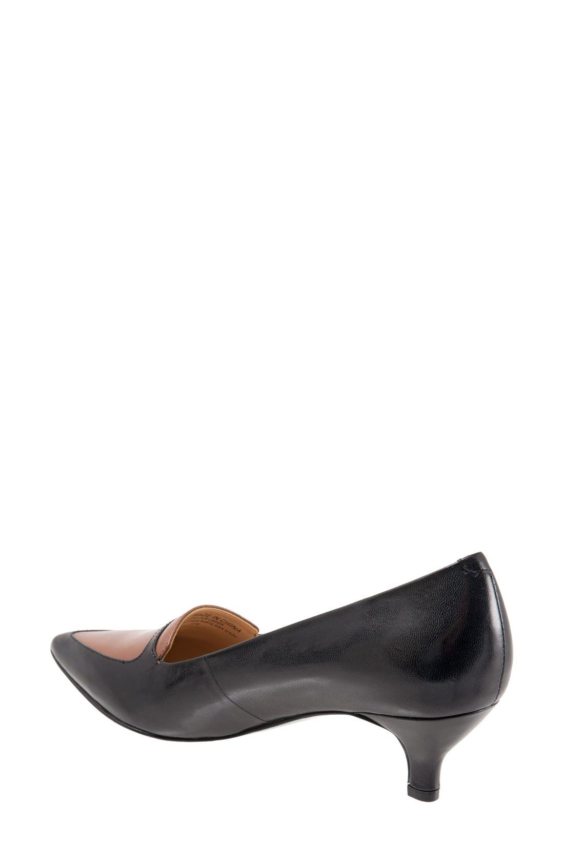 'Piper' Pointy Toe Pump,                             Alternate thumbnail 21, color,