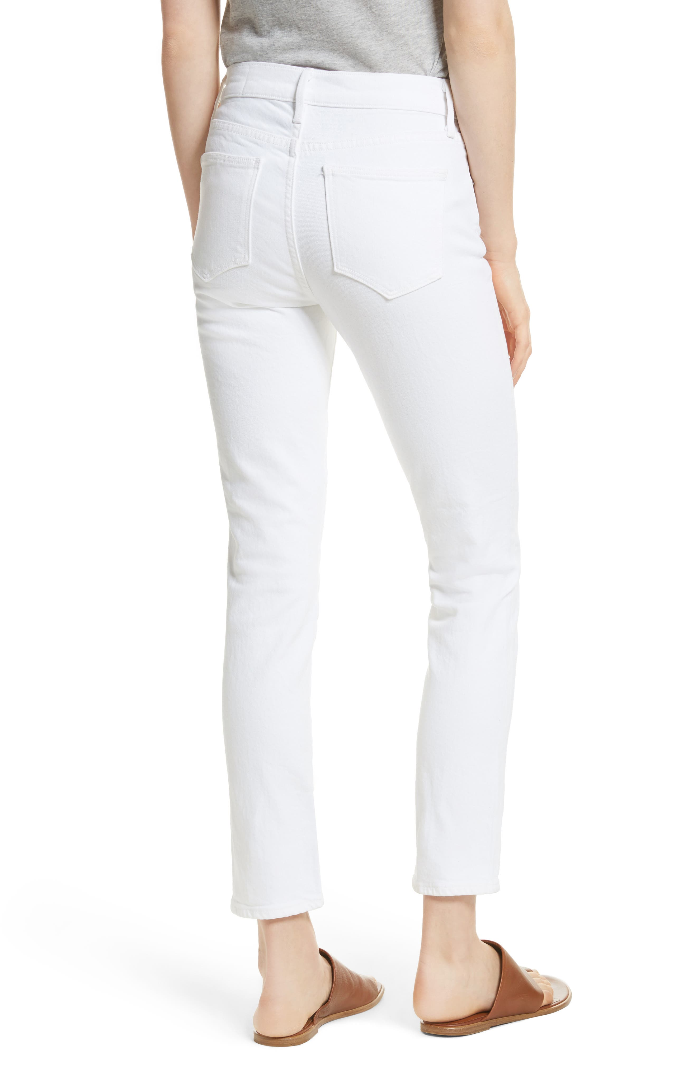 Skinny Crop Jeans,                             Alternate thumbnail 7, color,