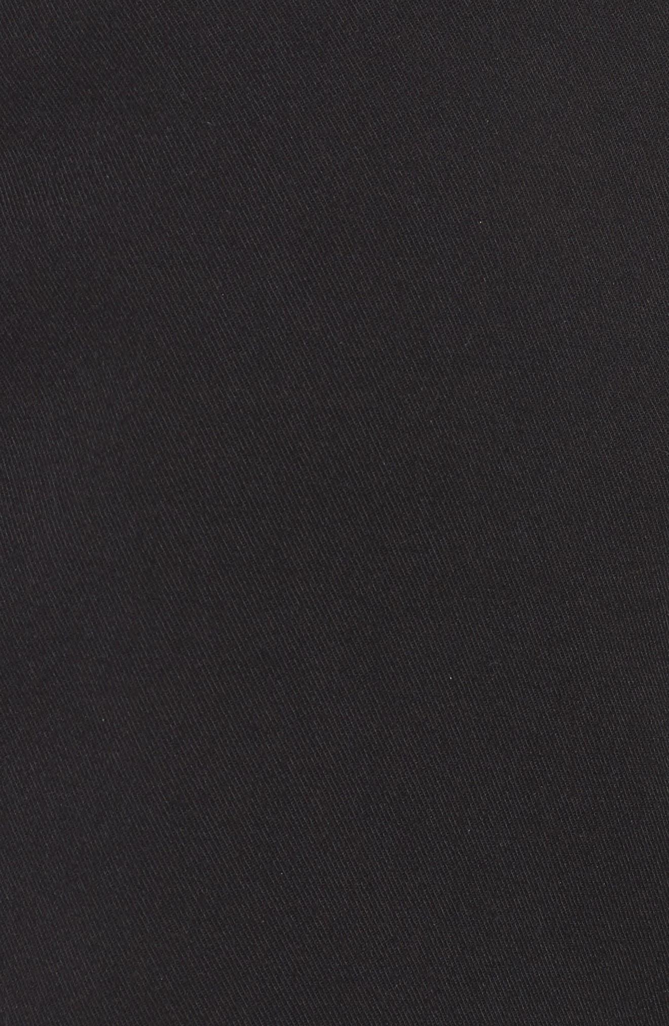 Puebla Stretch Shorts,                             Alternate thumbnail 5, color,                             BLACK