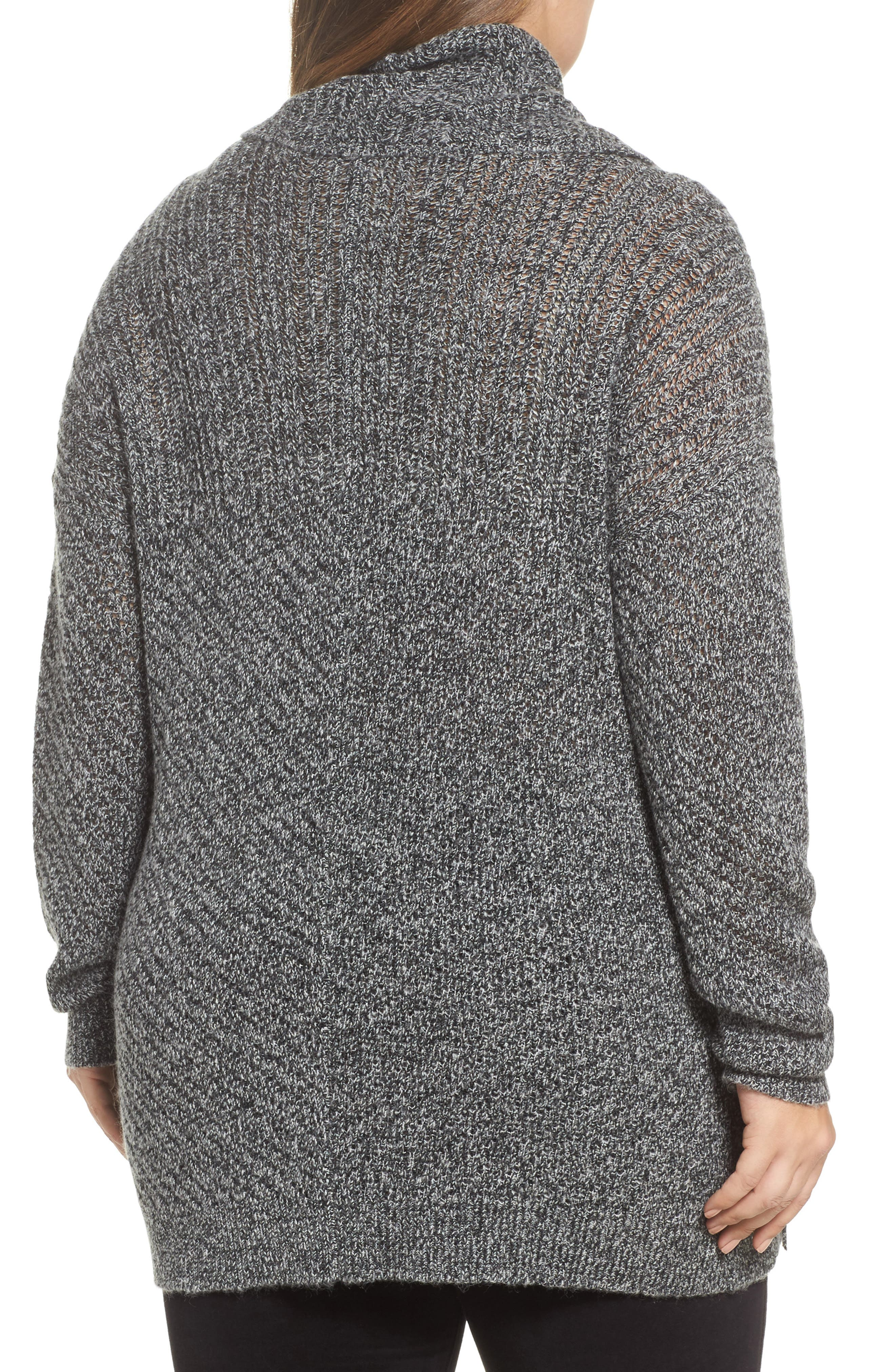 Button Side Sweater,                             Alternate thumbnail 2, color,                             009