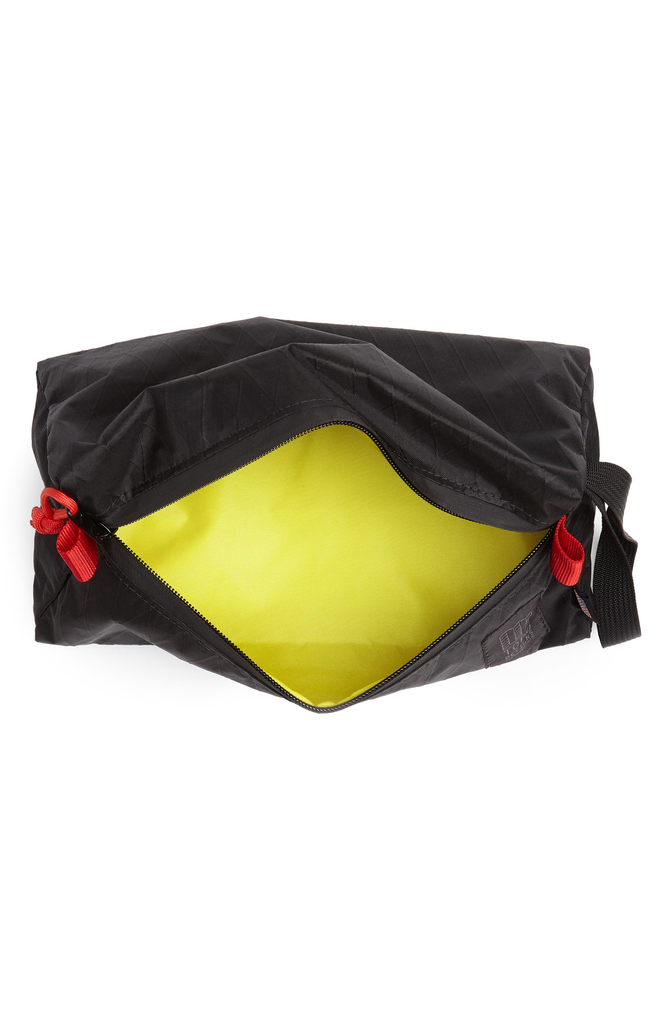 X-Pac Dopp Kit,                             Alternate thumbnail 3, color,                             X-PAC BLACK