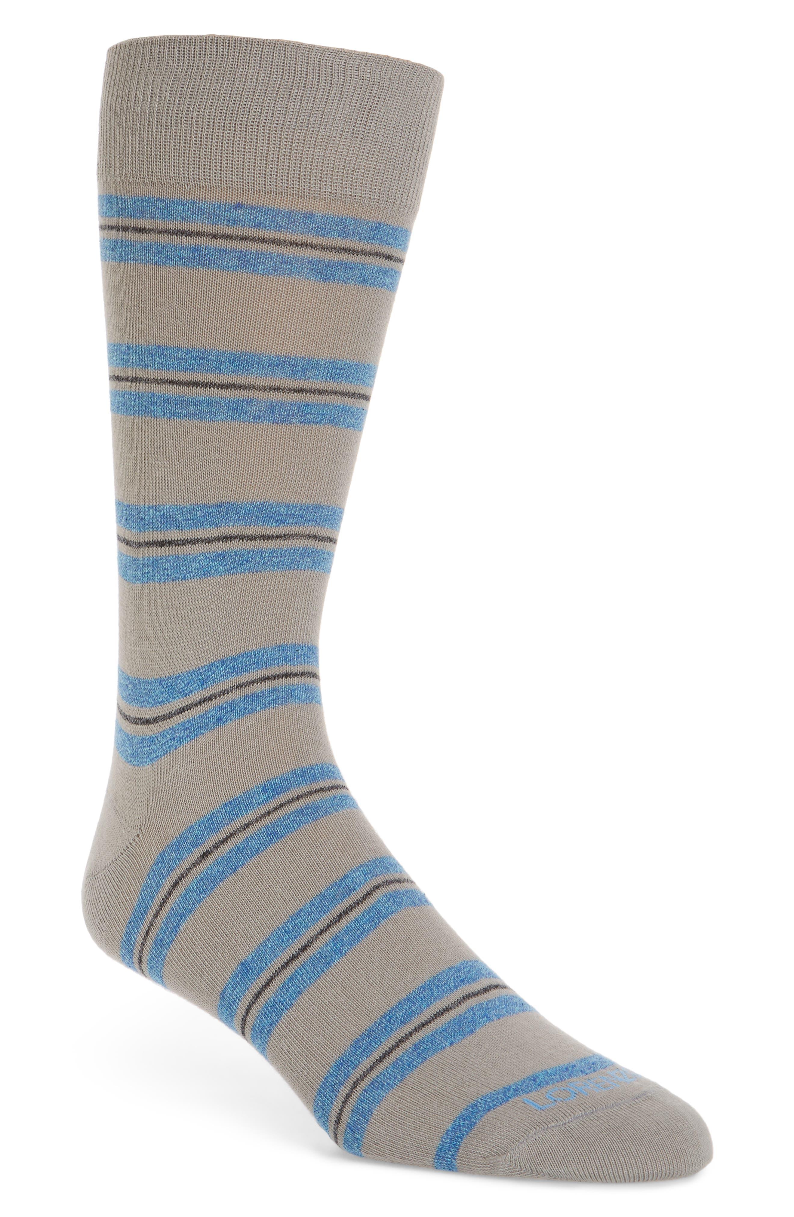 Genova Striped Socks,                         Main,                         color, 020