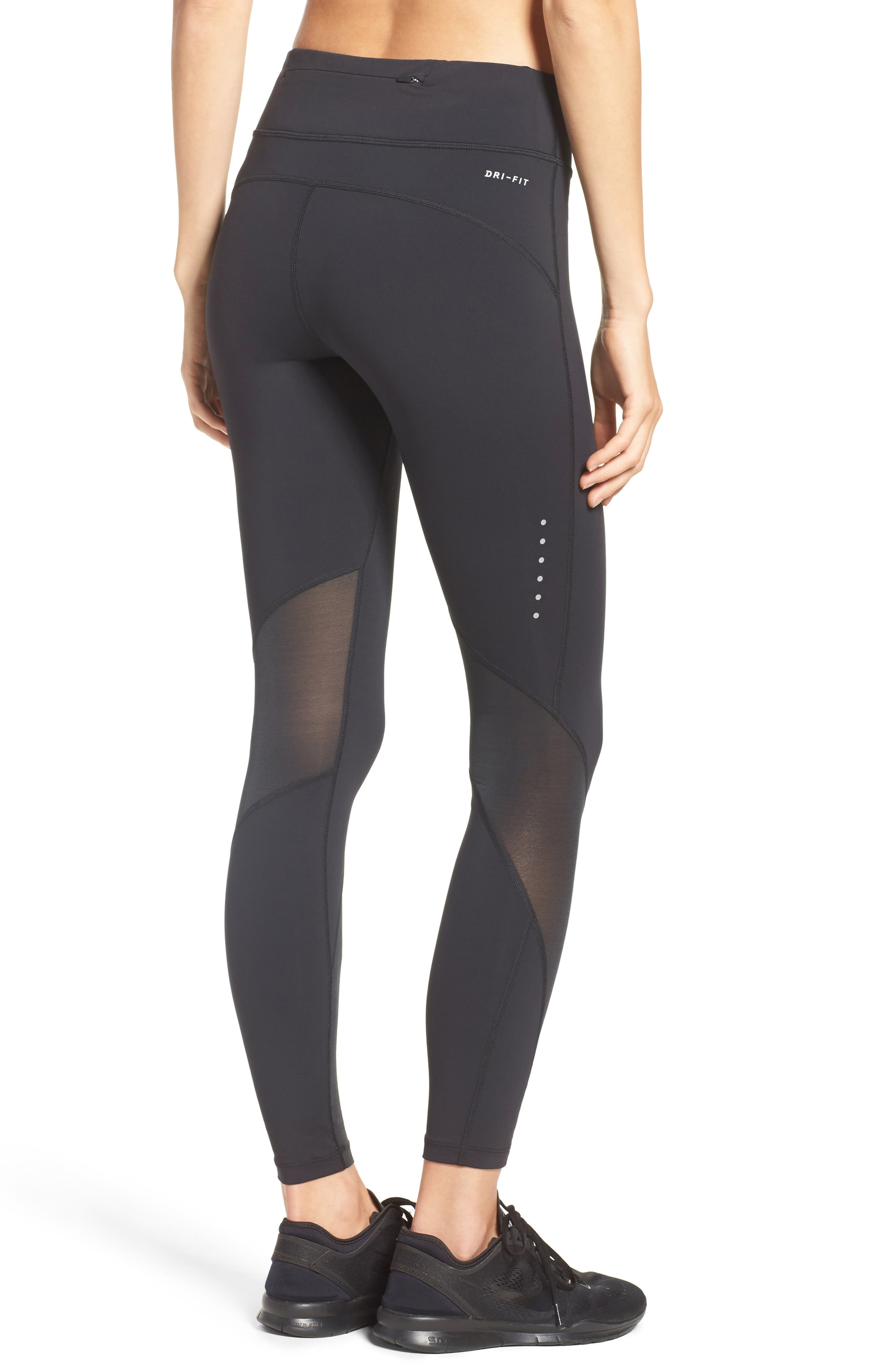 Power Epic Luxe Running Tights,                             Alternate thumbnail 2, color,                             010