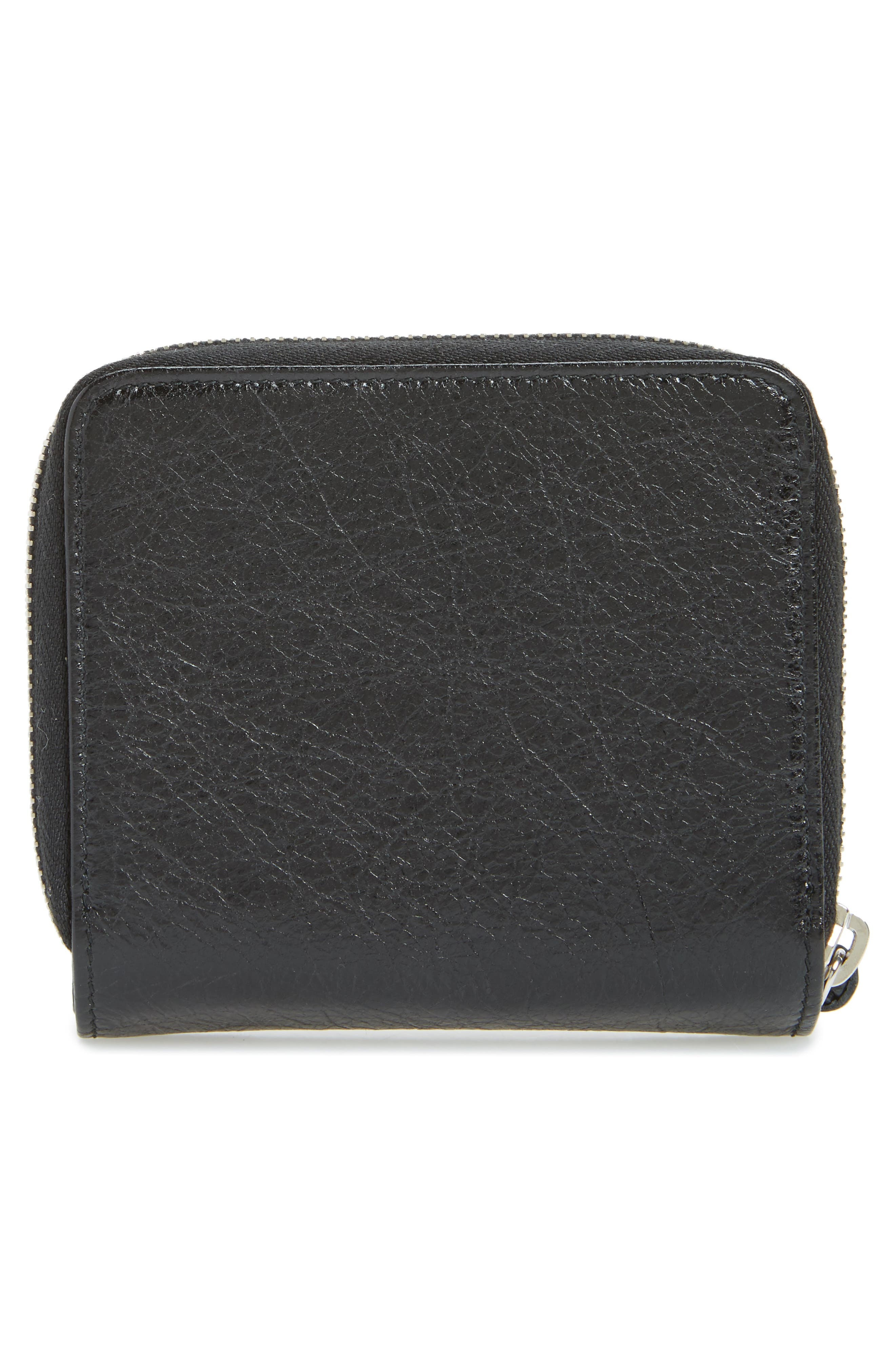 Classic Leather Billfold,                             Alternate thumbnail 4, color,                             1000 NOIR