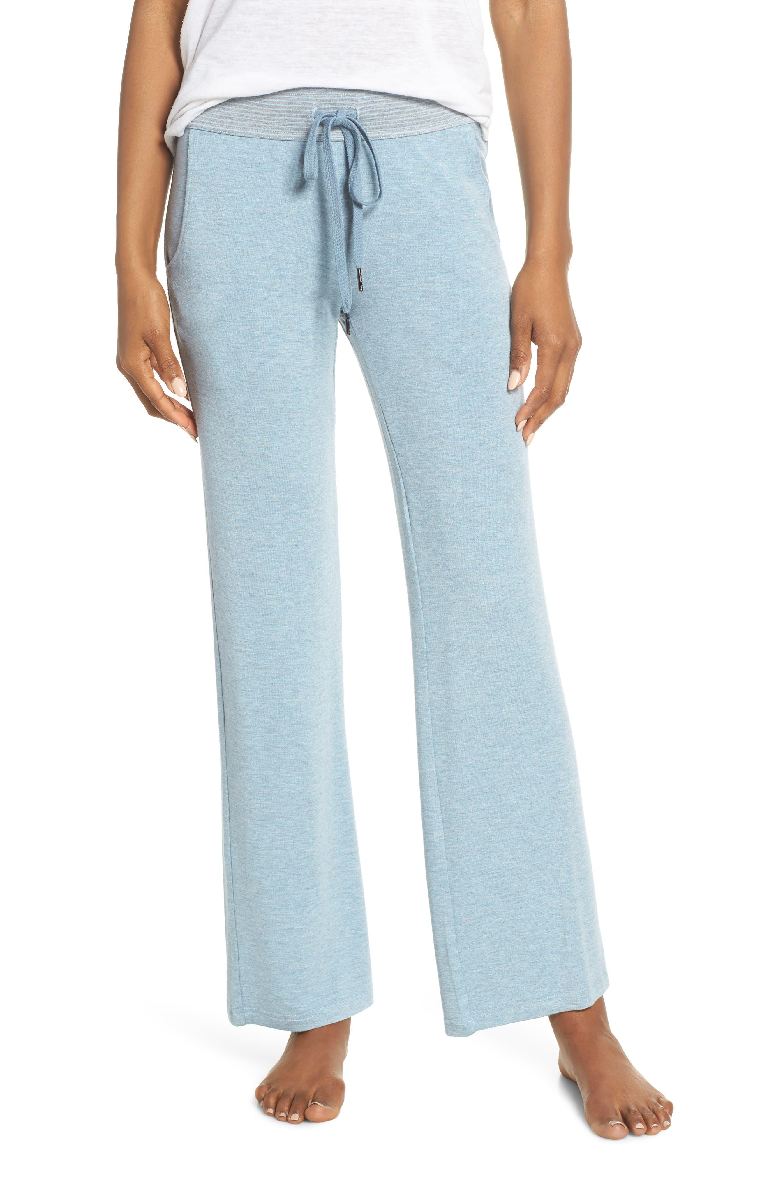 Felina Camilla Lounge Pants, Blue