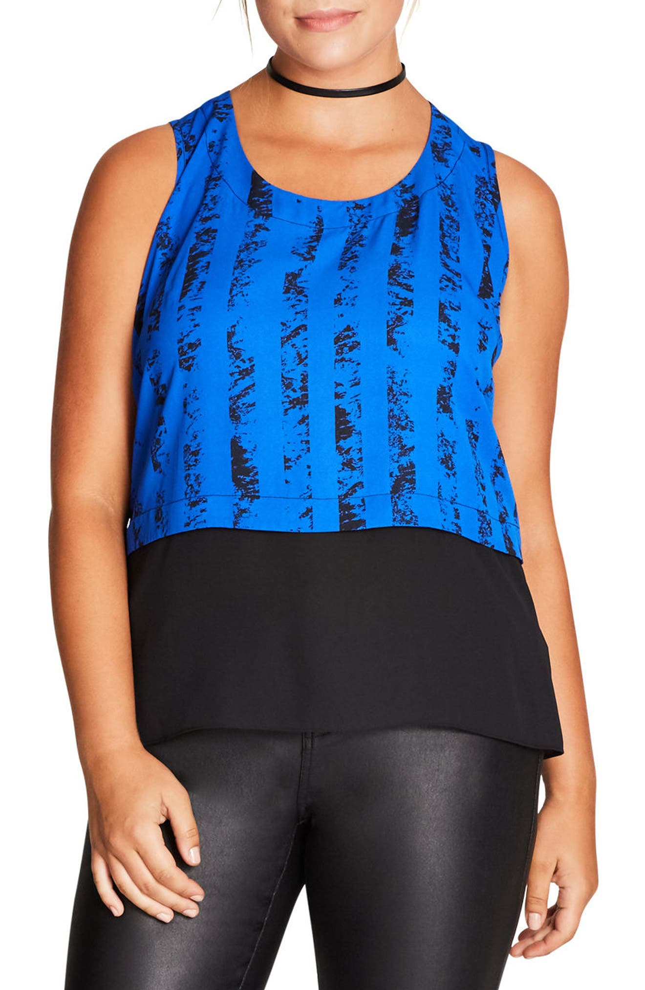 Print Overlay Top,                         Main,                         color, 422