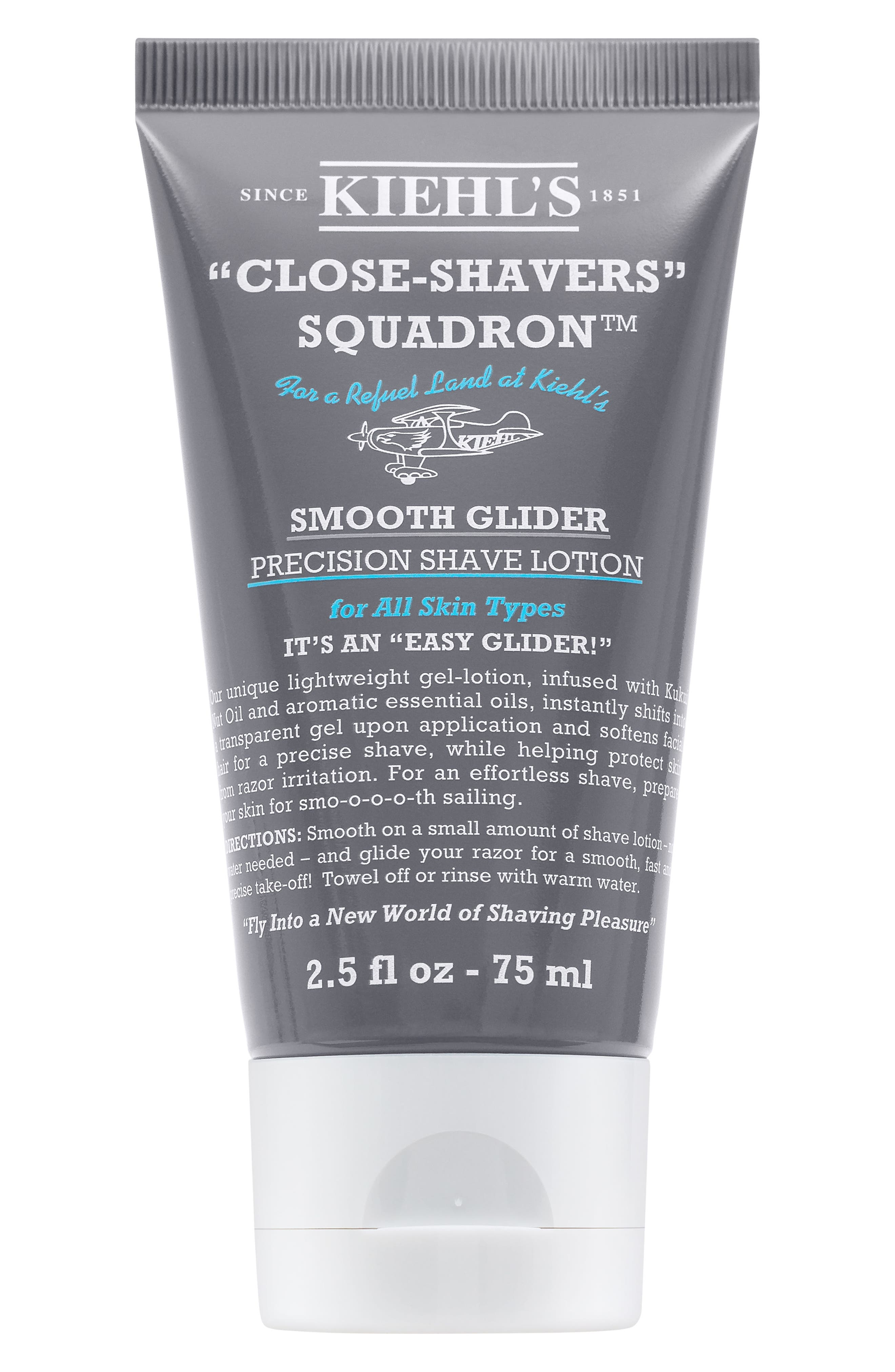 Smooth Glider Precision Shave Lotion,                             Main thumbnail 1, color,                             NO COLOR