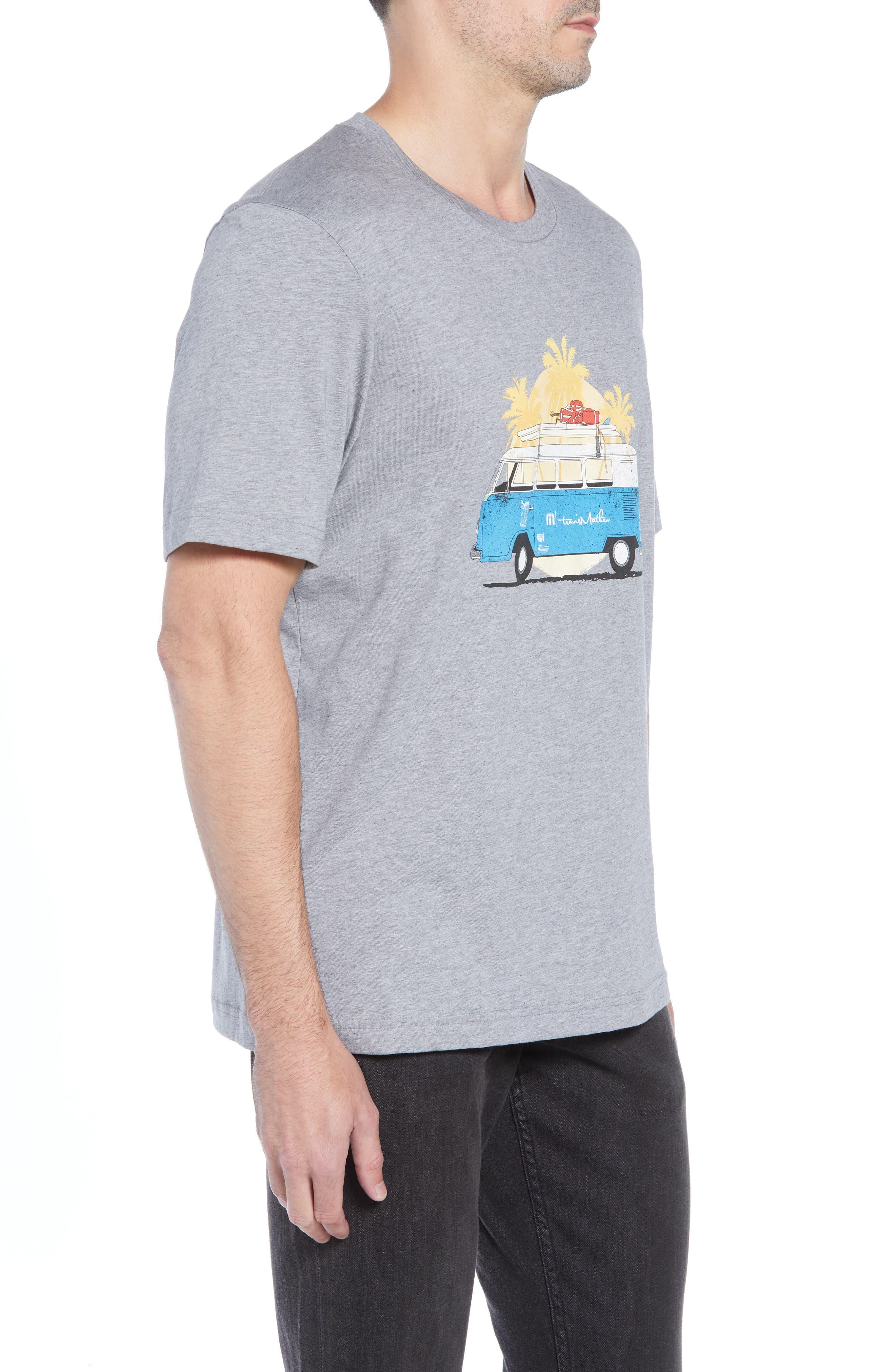 Shibby Crewneck T-Shirt,                             Alternate thumbnail 3, color,                             HEATHER GREY