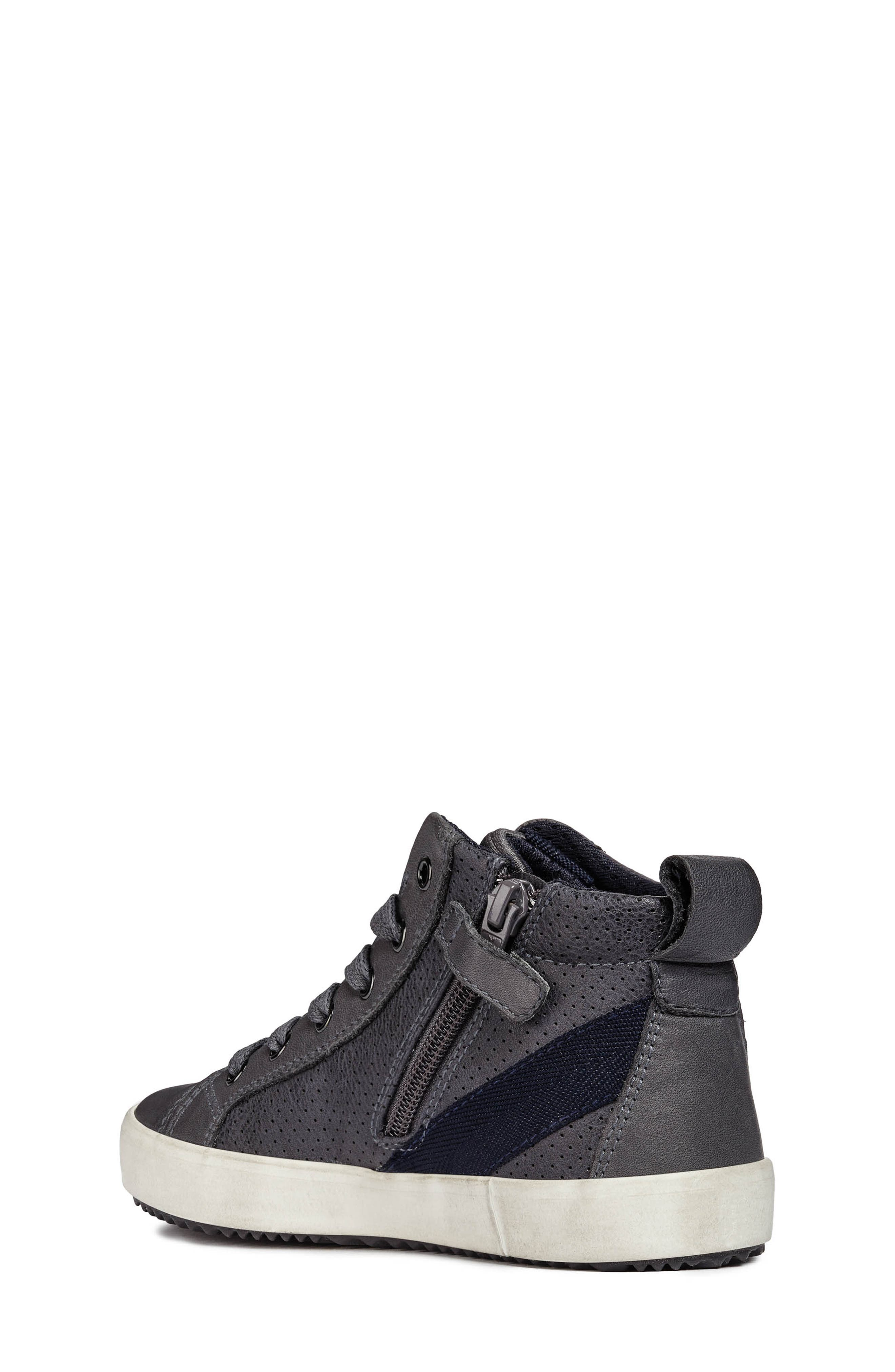 Alonisso High-Top Sneaker,                             Alternate thumbnail 2, color,                             GREY/DARK GREY