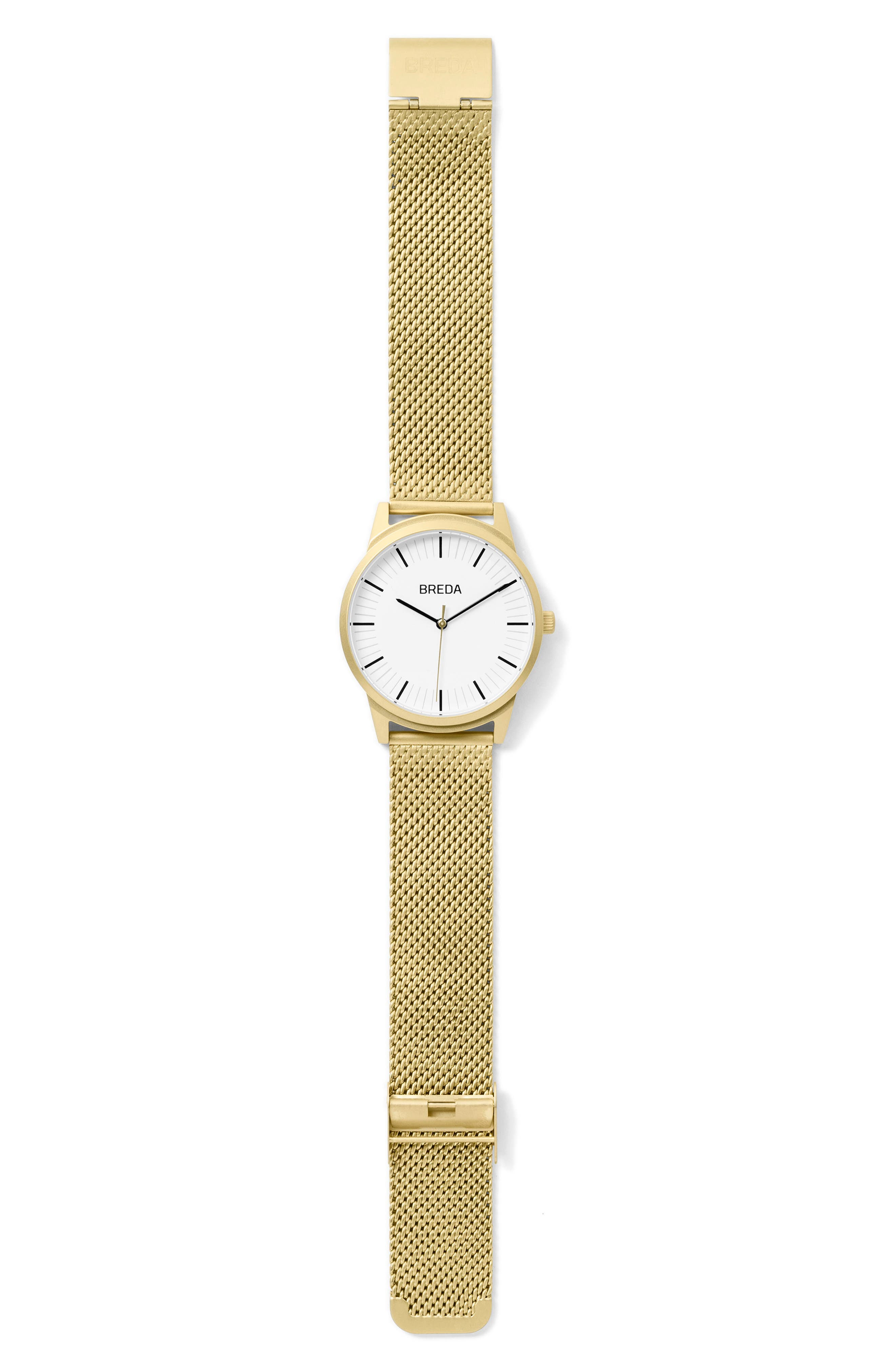 Bresson Mesh Strap Watch, 39mm,                             Alternate thumbnail 6, color,