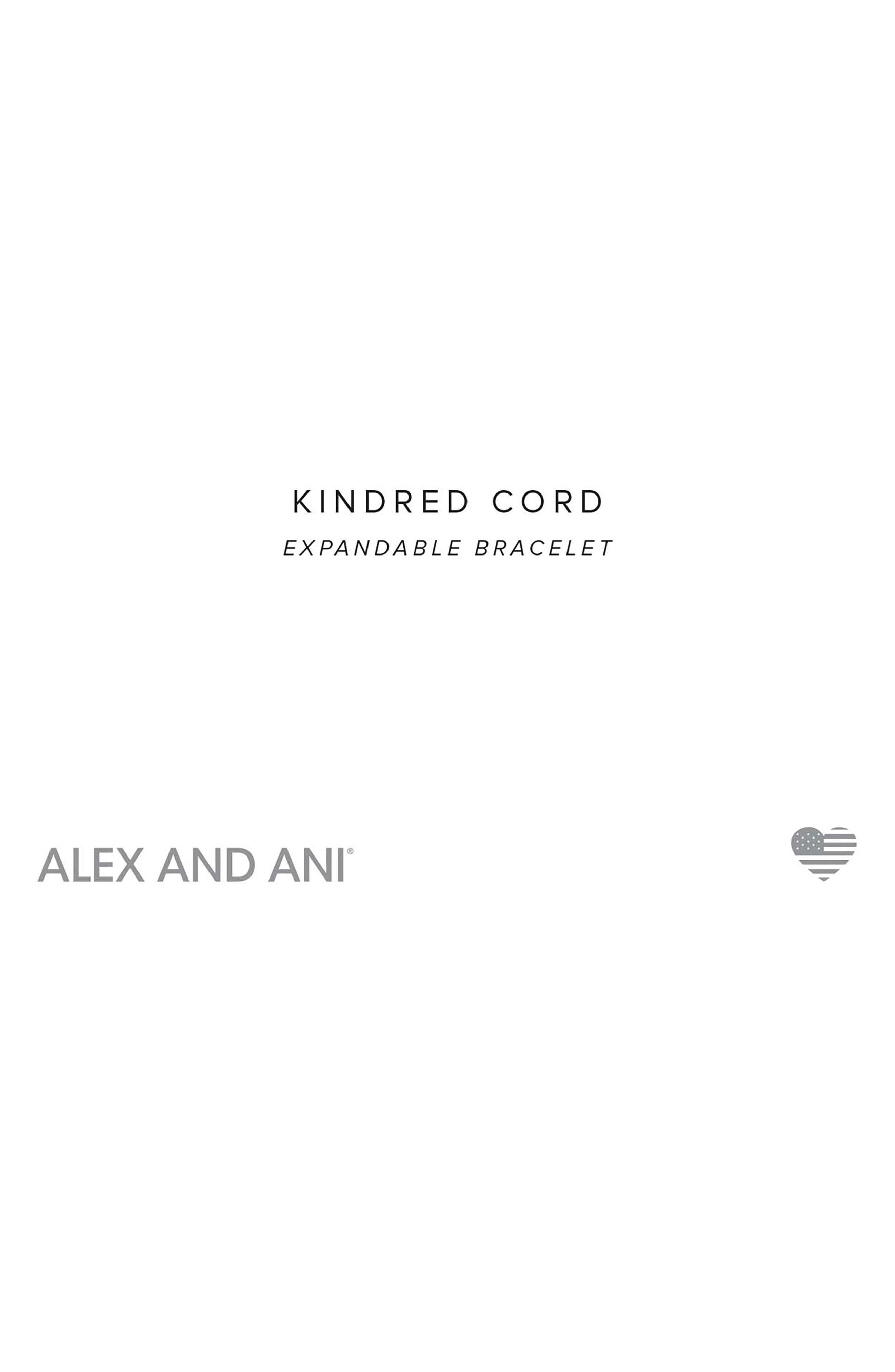 Kindred Cord Marathon 26.2 Bracelet,                             Alternate thumbnail 2, color,                             SILVER
